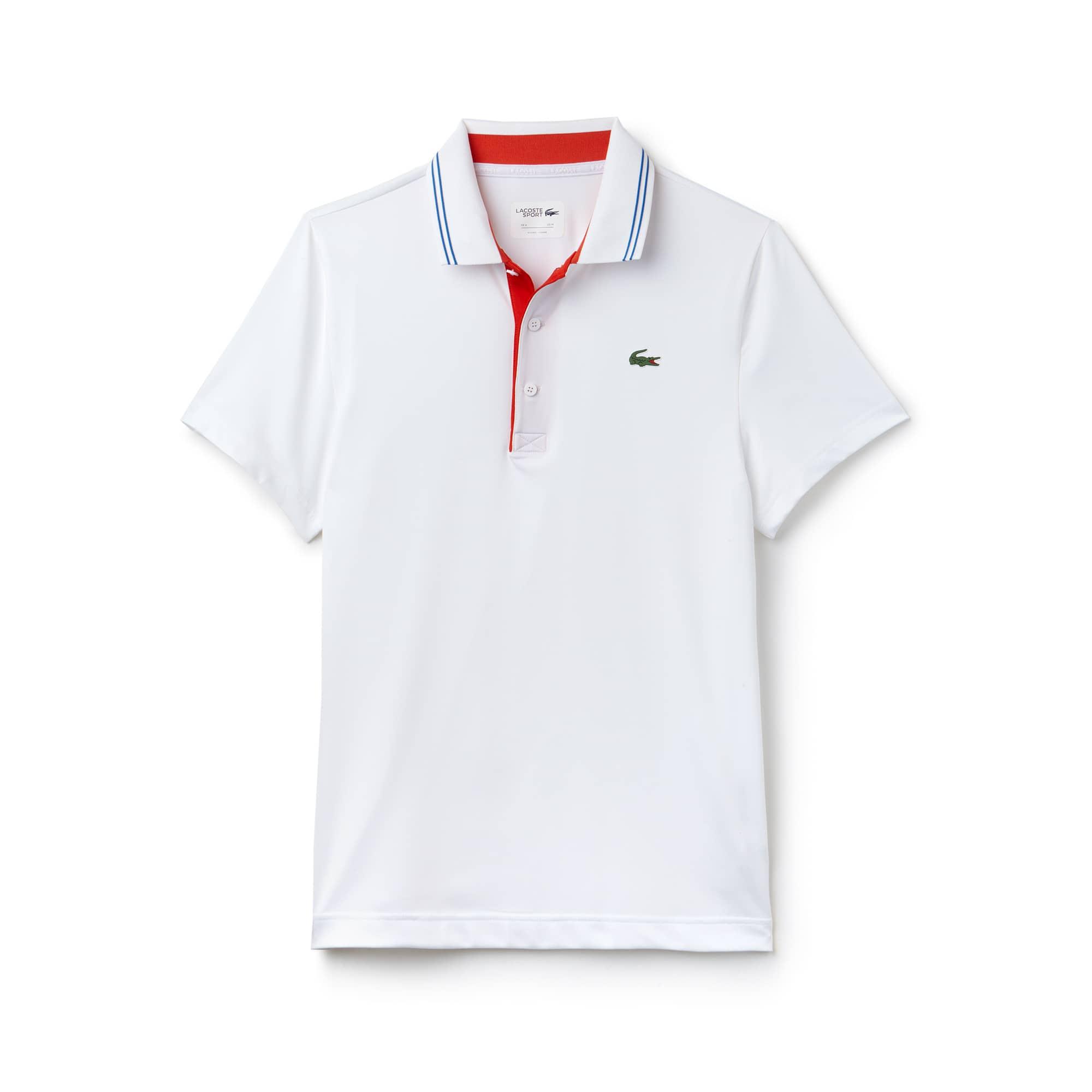 Polo Golf Lacoste SPORT in jersey stretch tecnico con logo