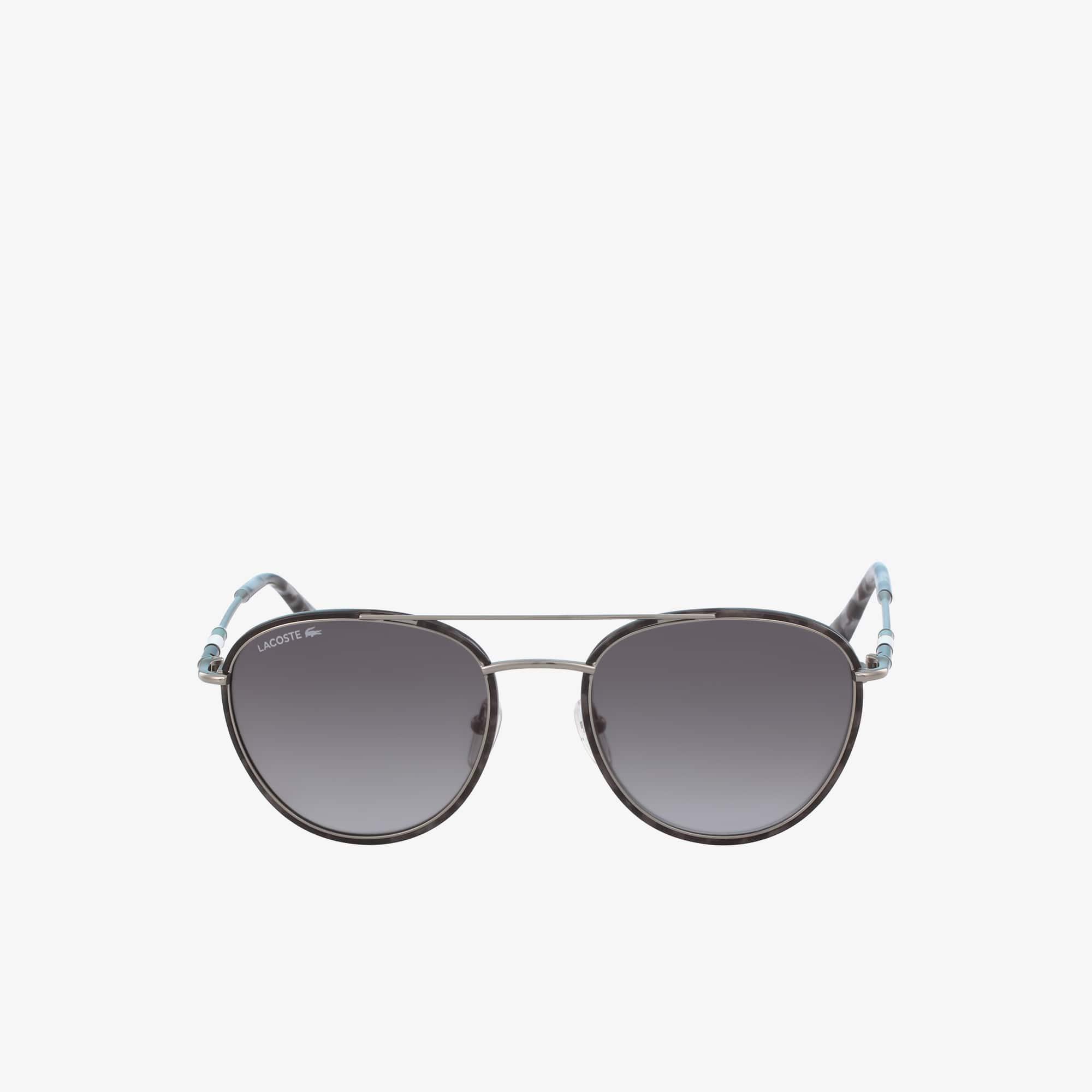 Occhiali da sole ovali in metallo della collezione Novak Djokovic