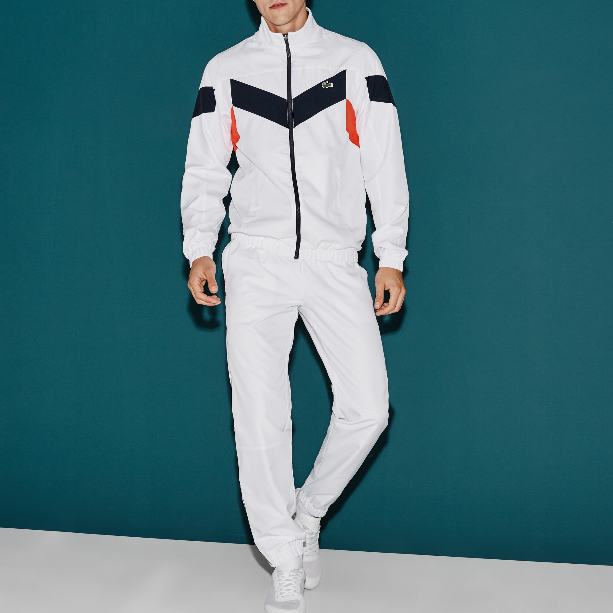 Tuta Tennis Lacoste SPORT color block