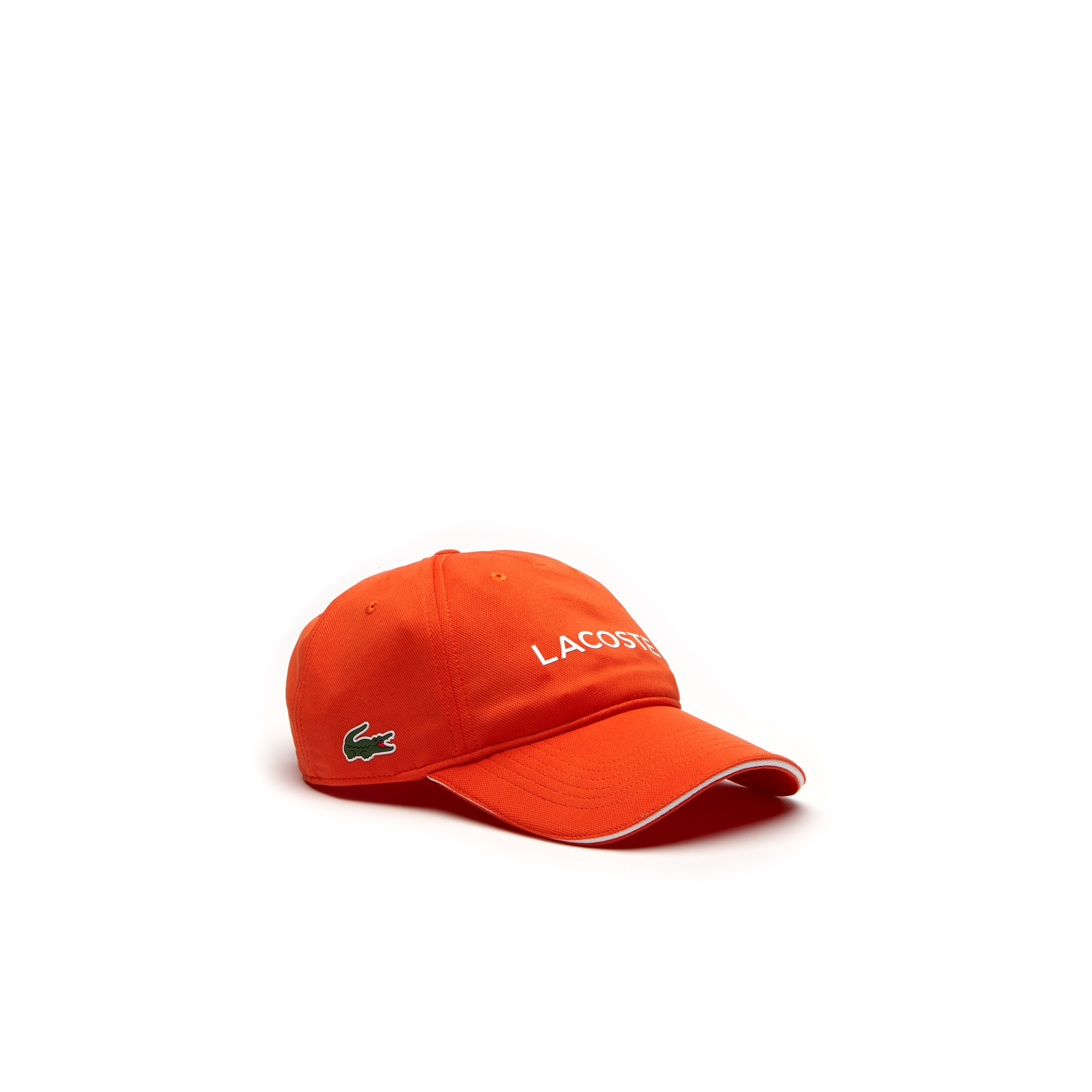 Berretto con visiera Golf Lacoste SPORT in piqué tecnico con marchio