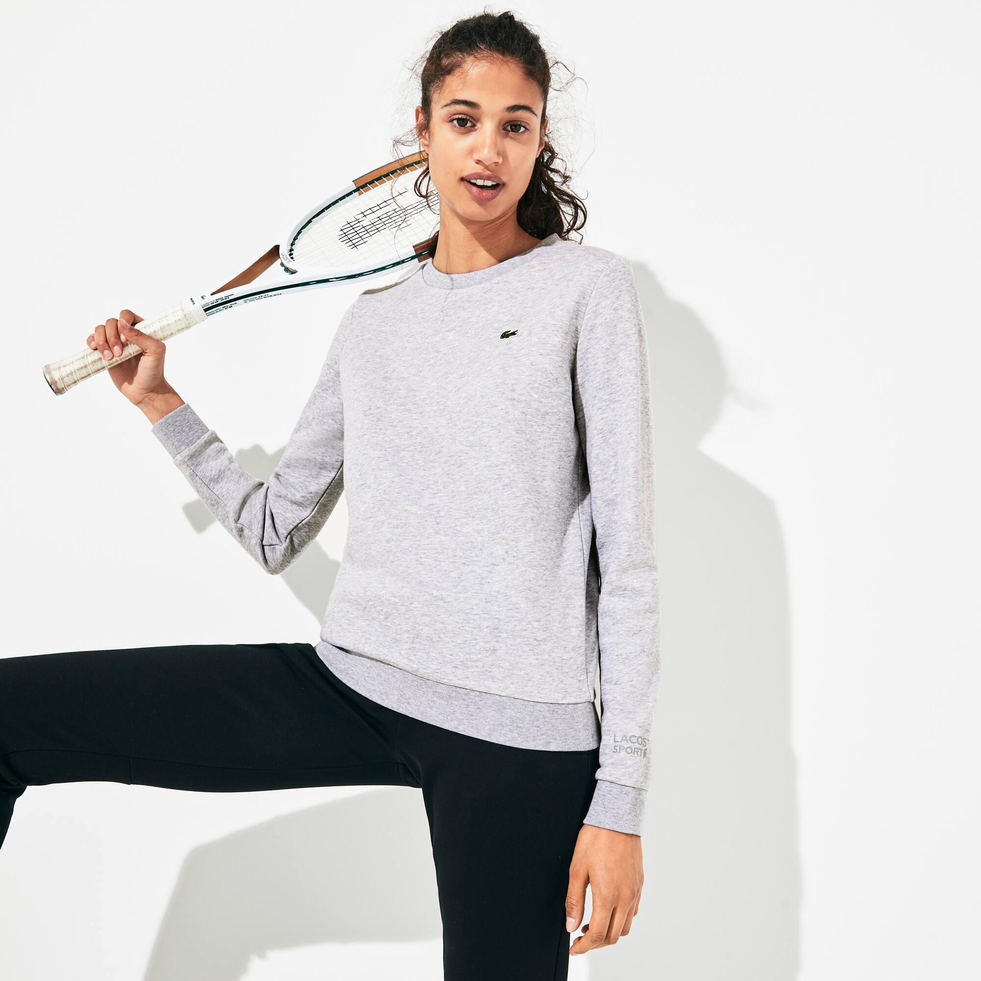 Felpa Tennis Lacoste SPORT in cotone tinta unita