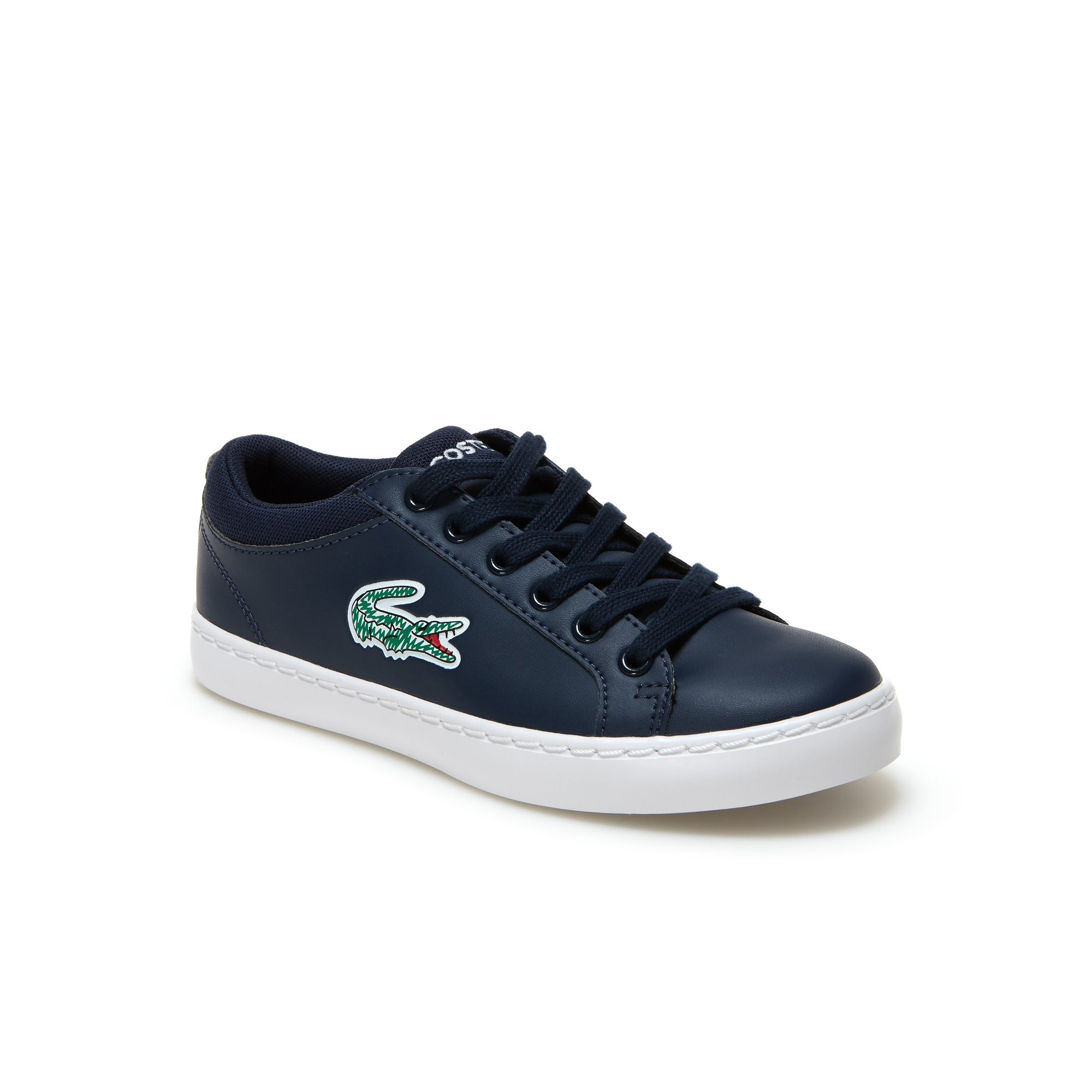 Sneakers Straightset Lace bambini in similpelle