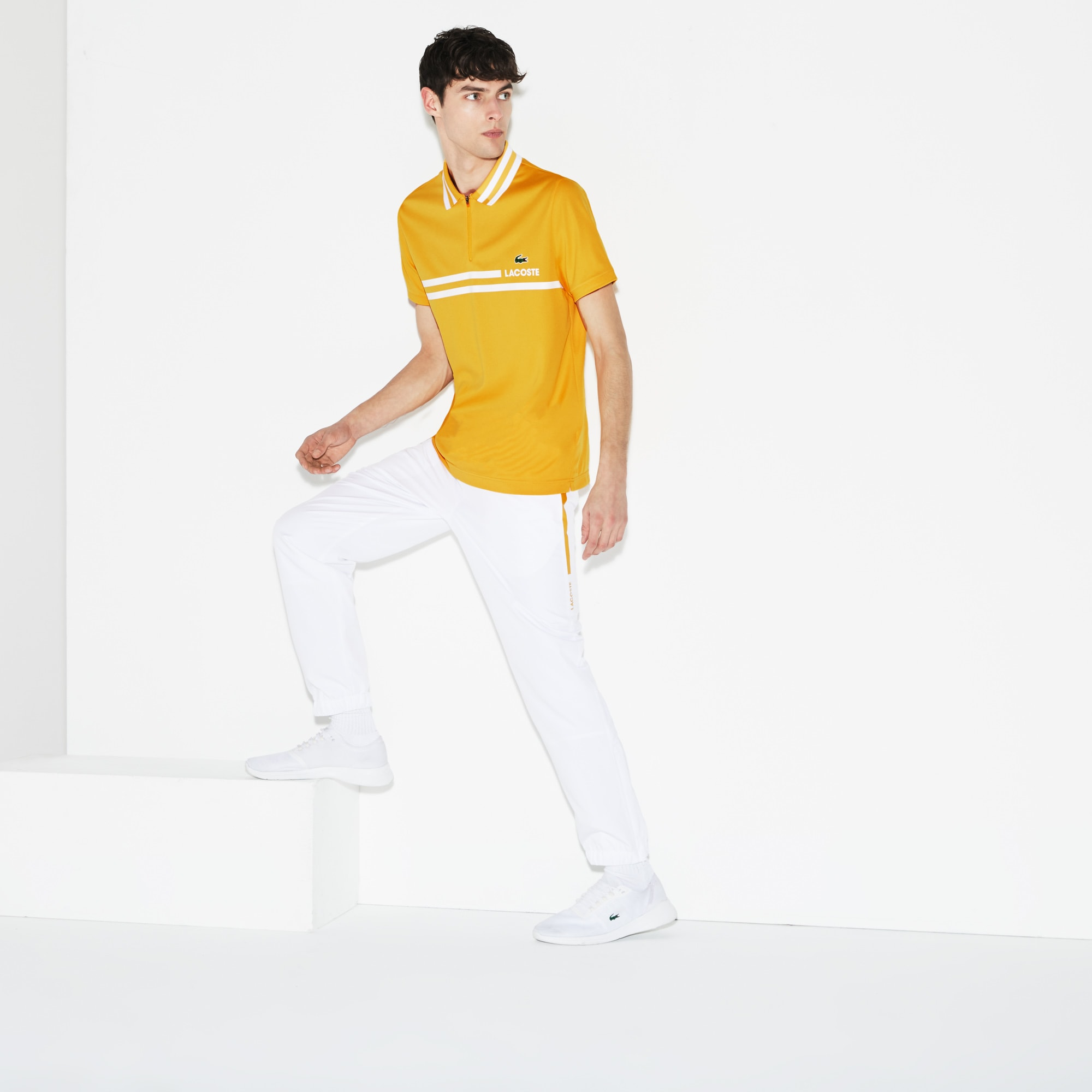 Pantalone tuta Tennis Lacoste SPORT in taffetà