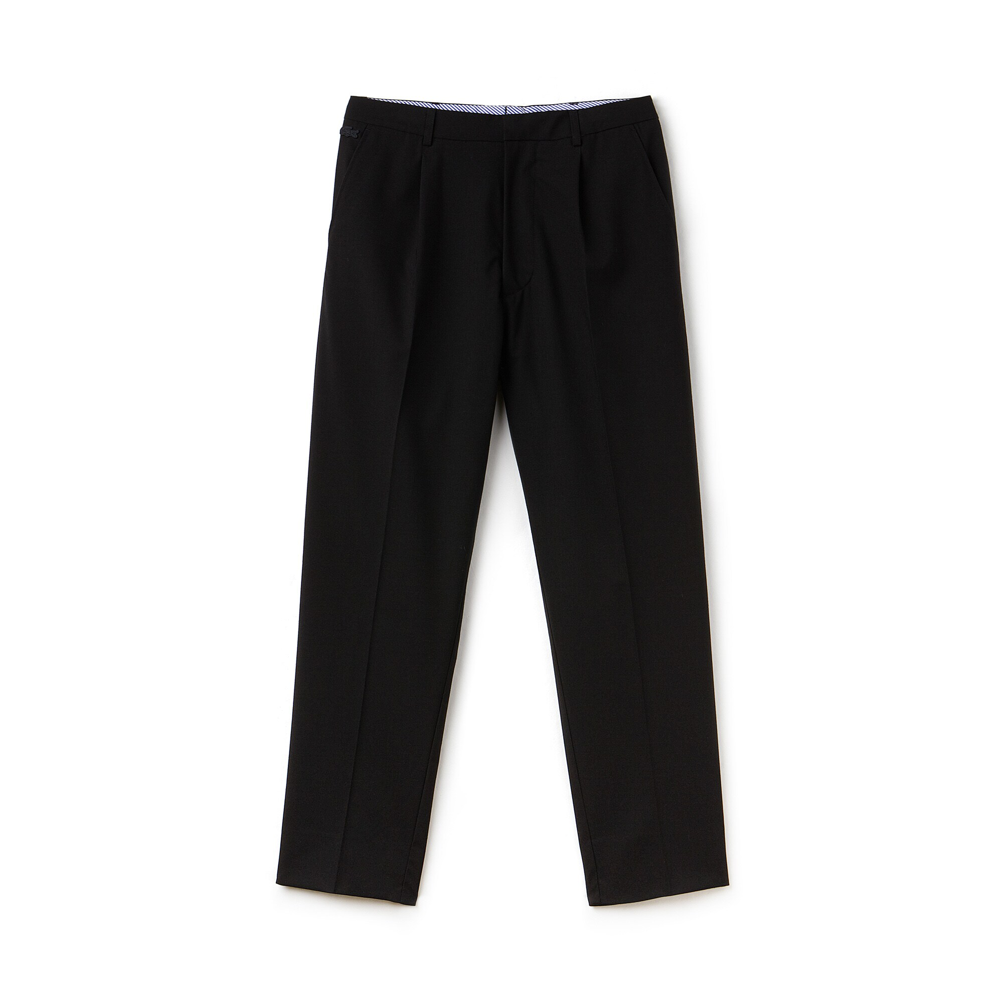 Pantaloni chino con pince Lacoste LIVE in crêpe stretch tinta unita