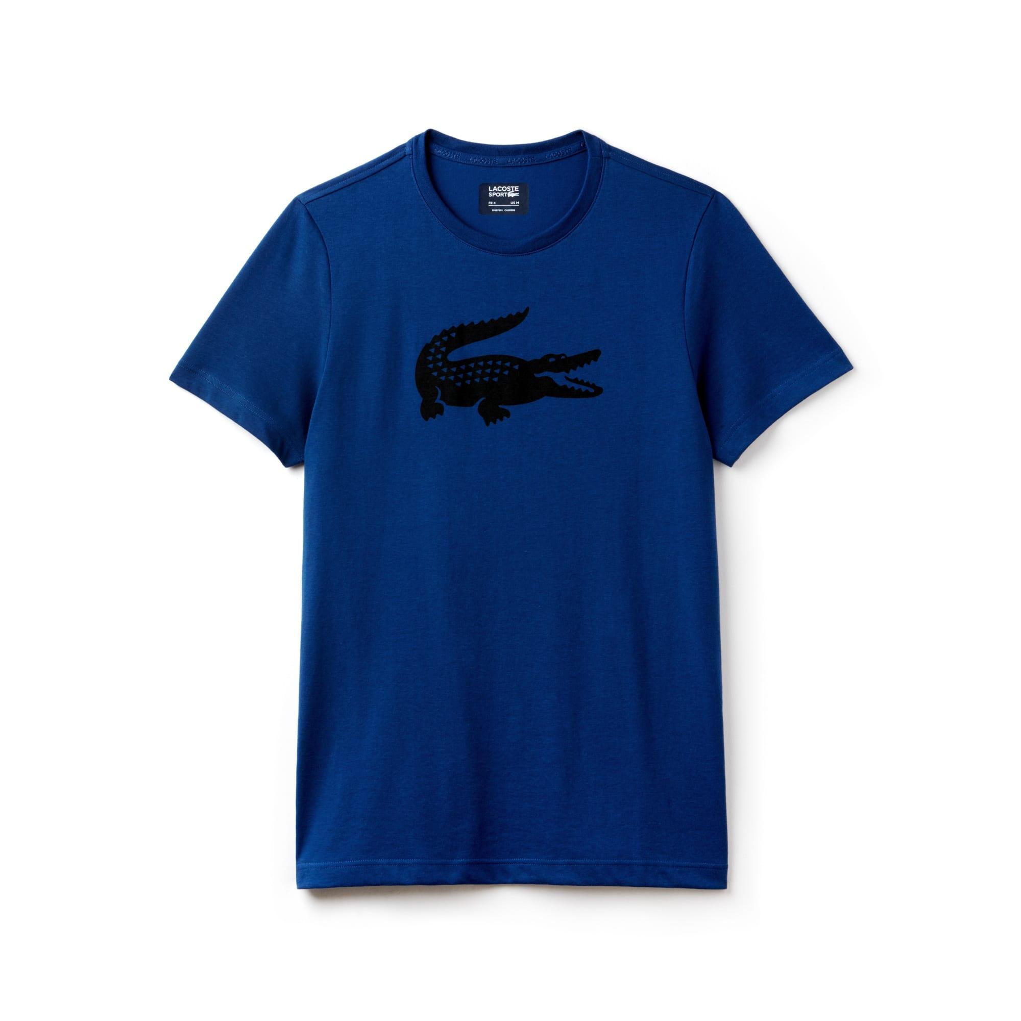 T-shirt Tennis Lacoste SPORT in jersey tecnico con coccodrillo oversize