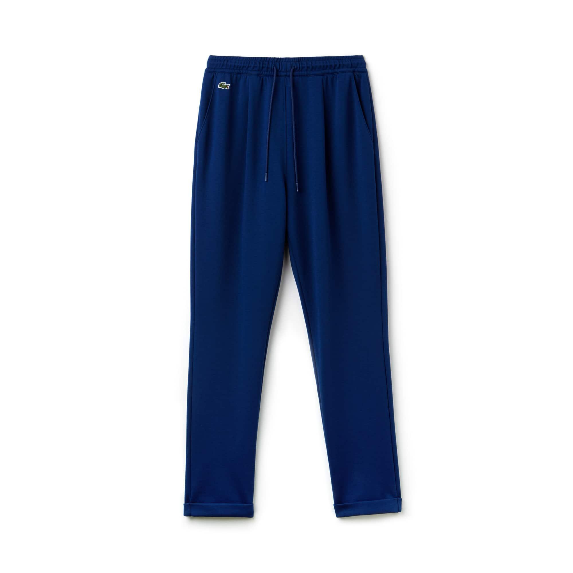 Pantaloni tuta con pince Tennis Lacoste SPORT in cotone