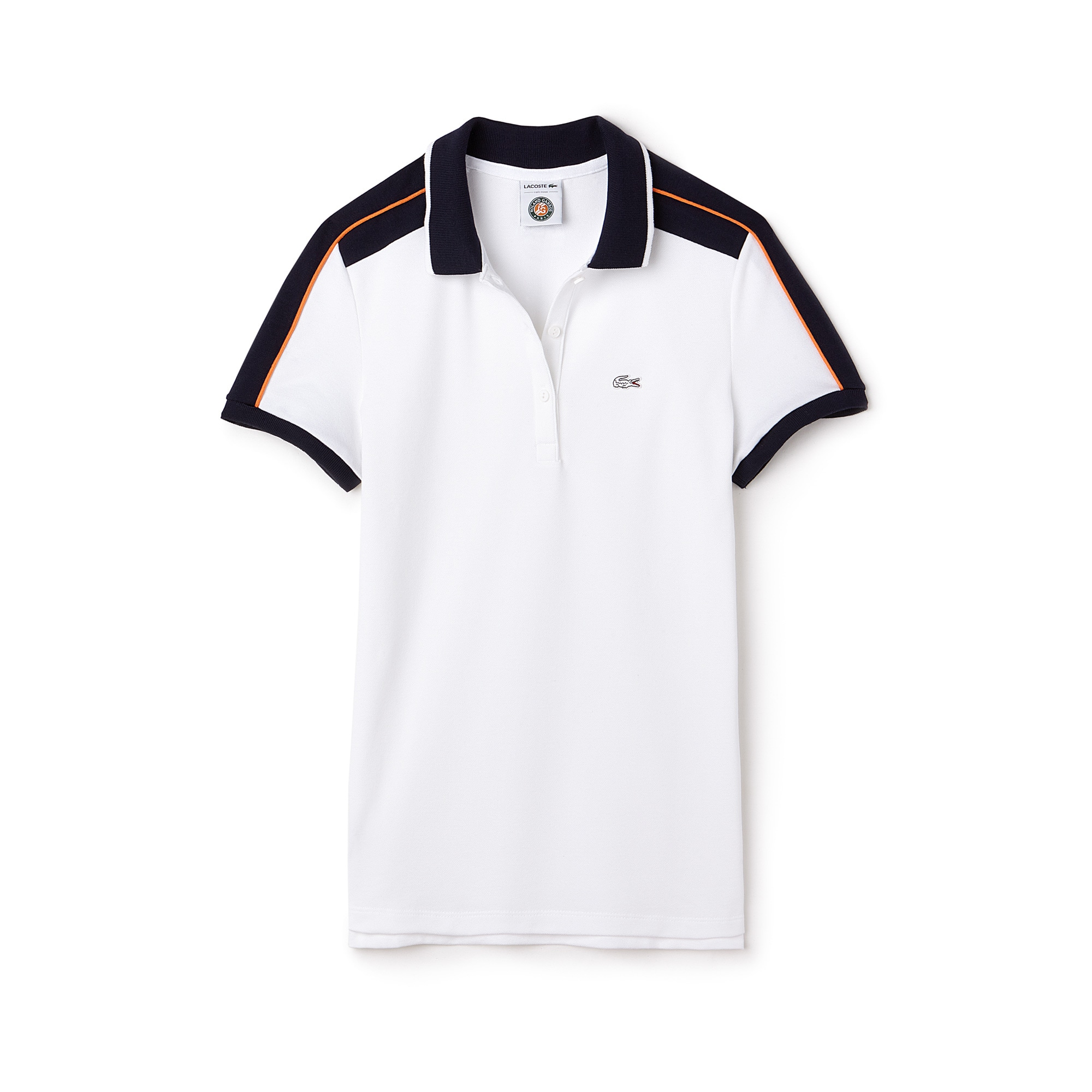 Polo Lacoste SPORT in mini piqué stretch Edizione Roland Garros