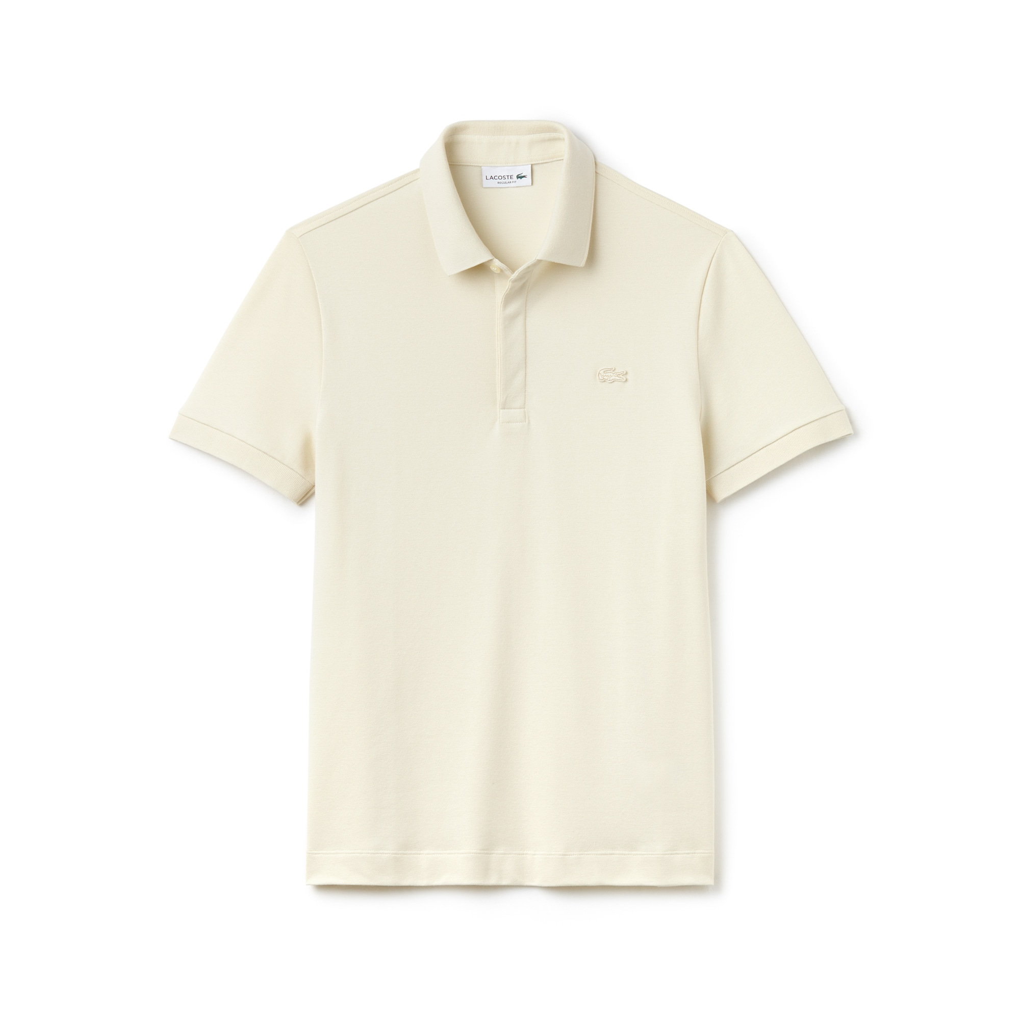 Paris Polo regular fit Lacoste in piqué di cotone stretch