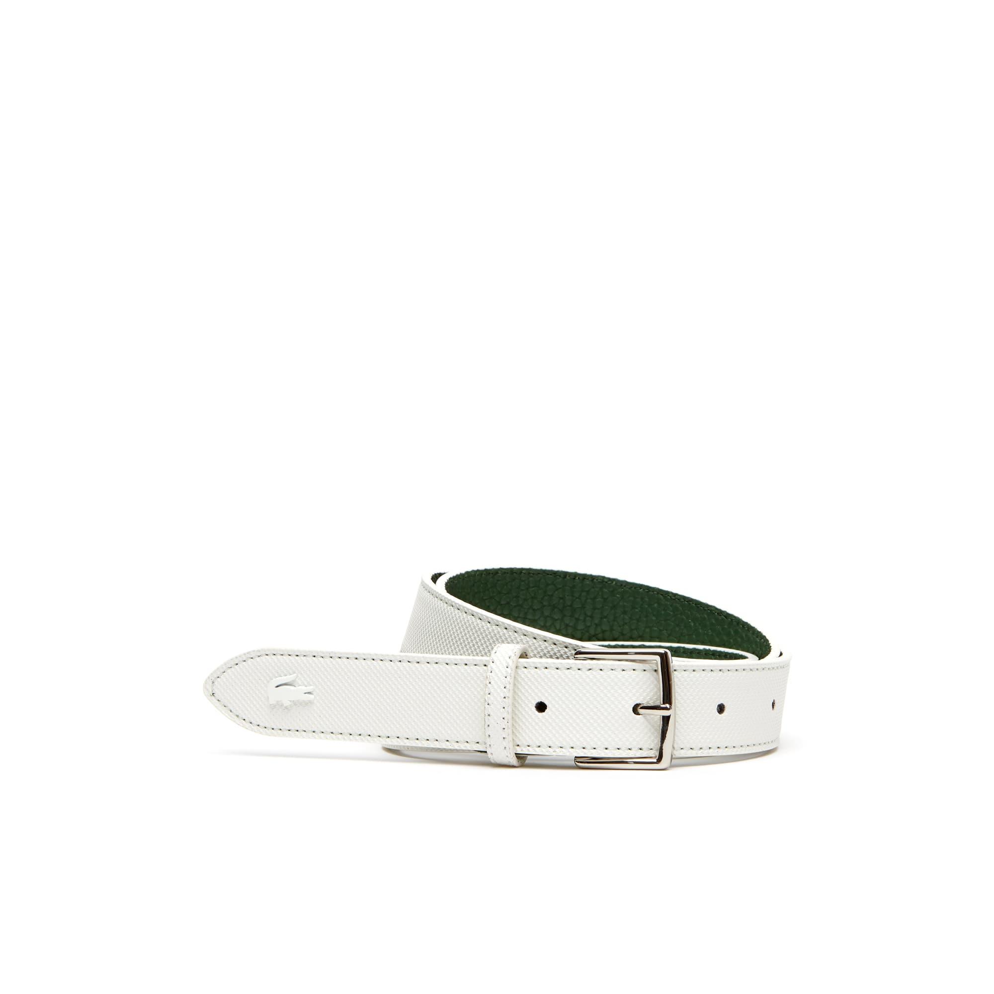 Cintura reversibile Anna bicolore con fibbia ad ardiglione