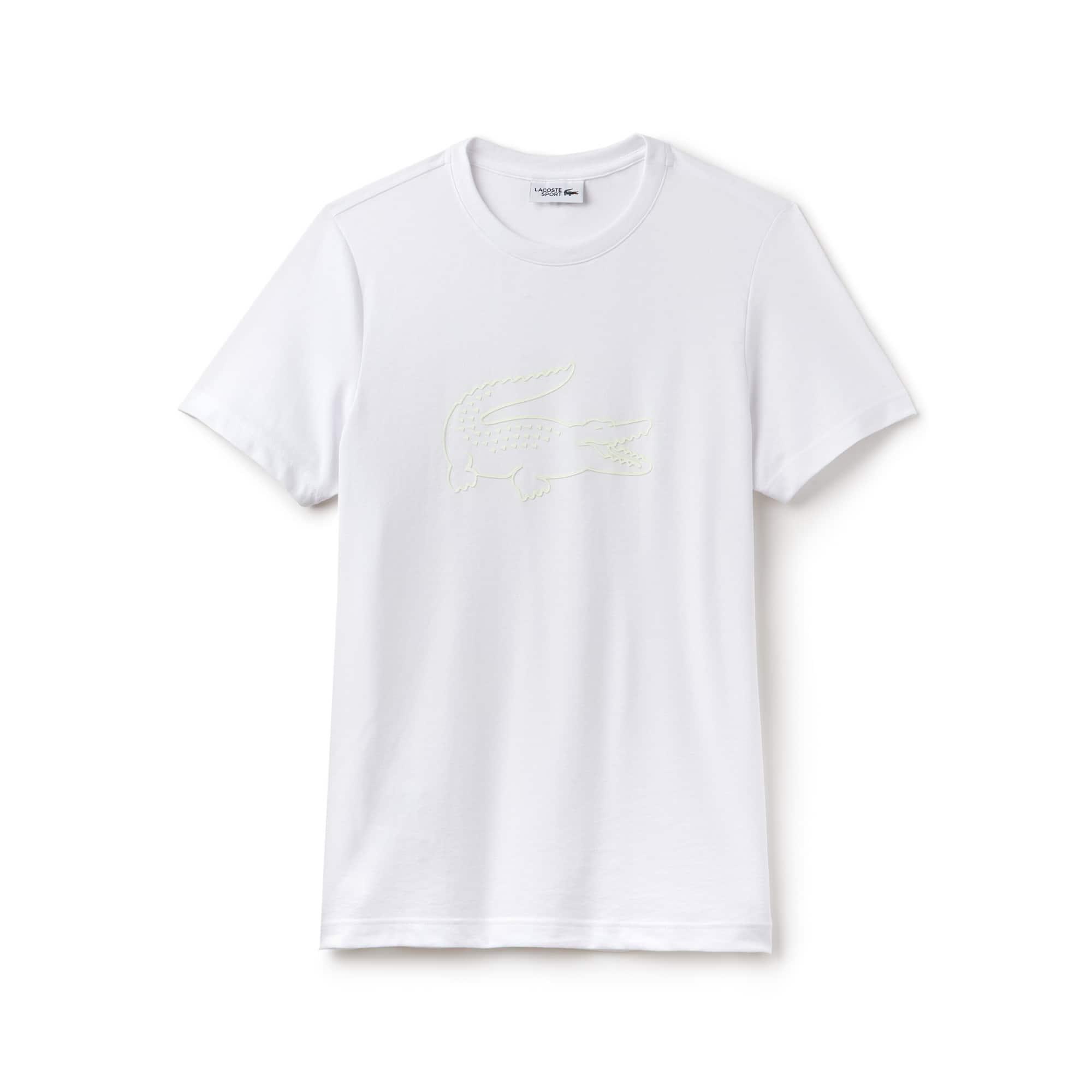 T-shirt Tennis Lacoste SPORT in jersey tecnico con coccodrillo XL
