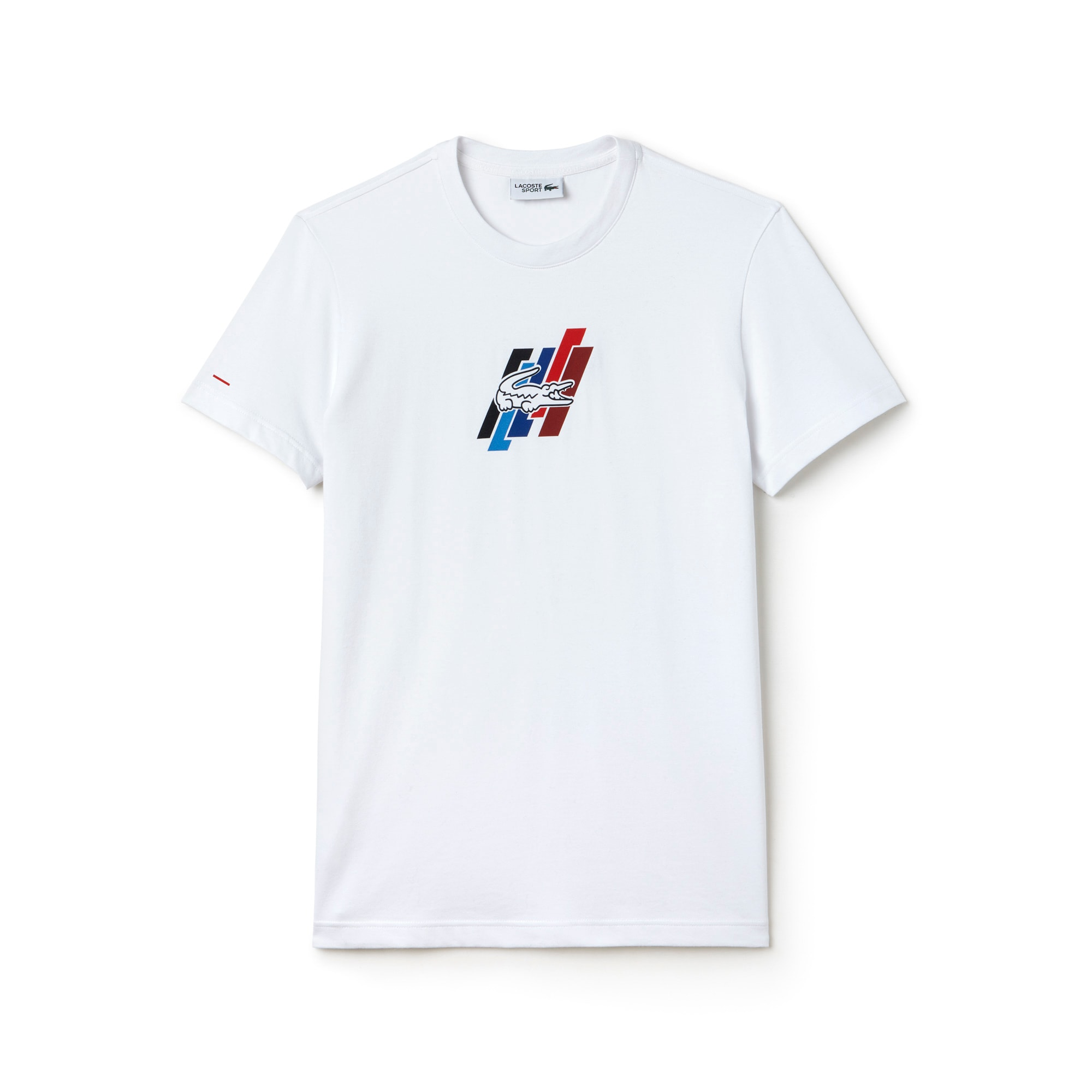 T-shirt a girocollo Lacoste SPORT in jersey Edizione FRENCH SPORTING SPIRIT
