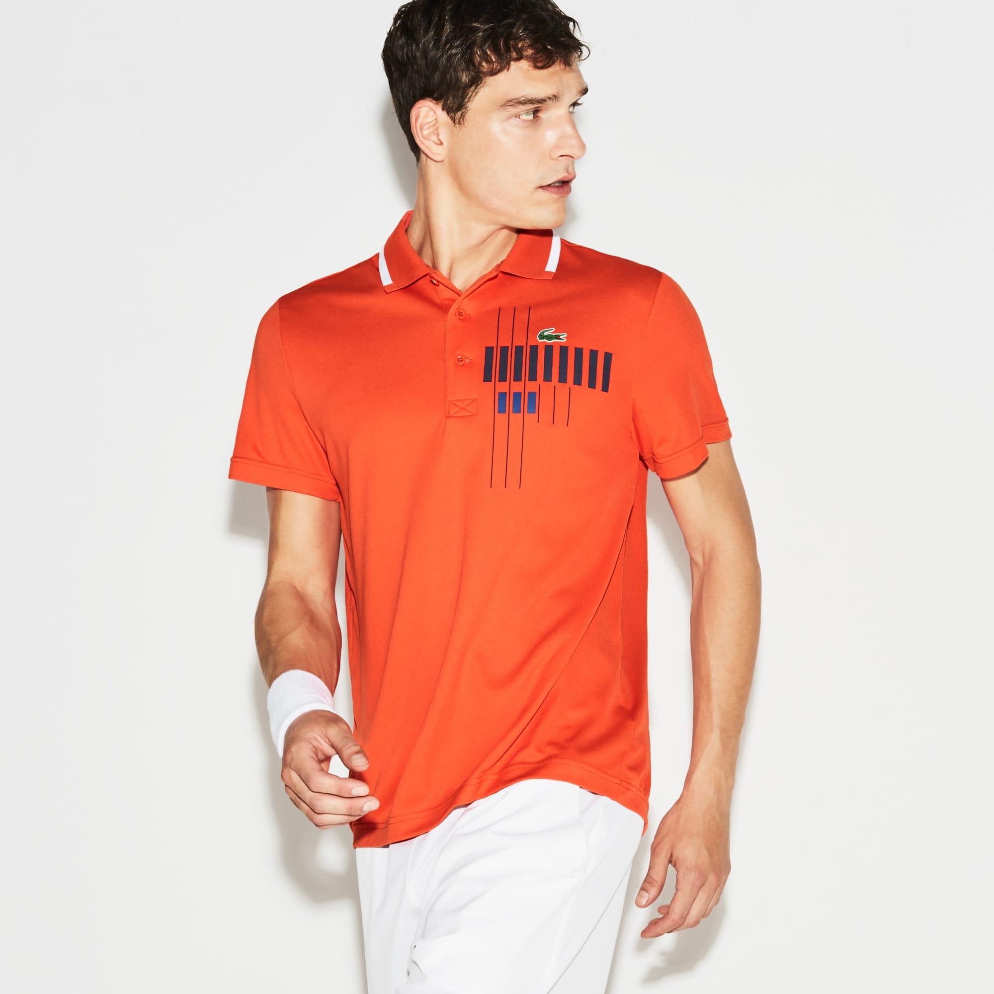 Polo Lacoste Collezione per Novak Djokovic -  Exclusive Blue Edition