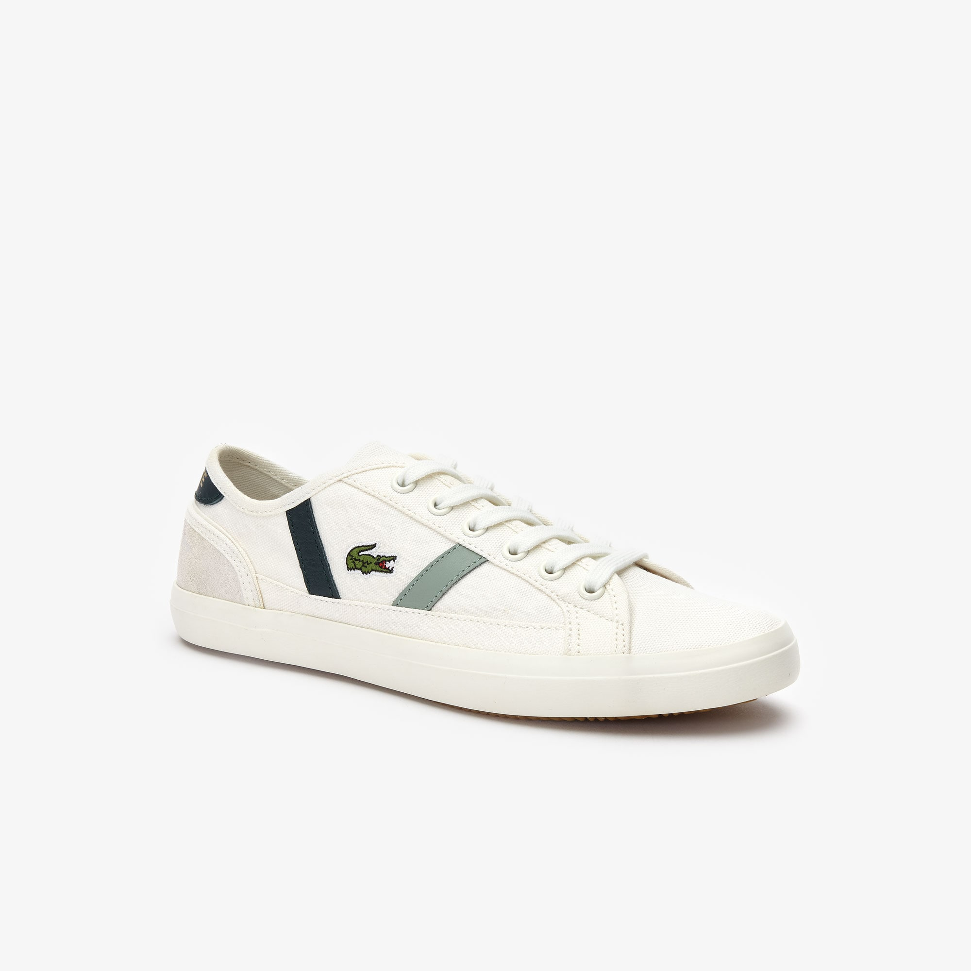 Sneakers da donna in canvas e pelle Sideline