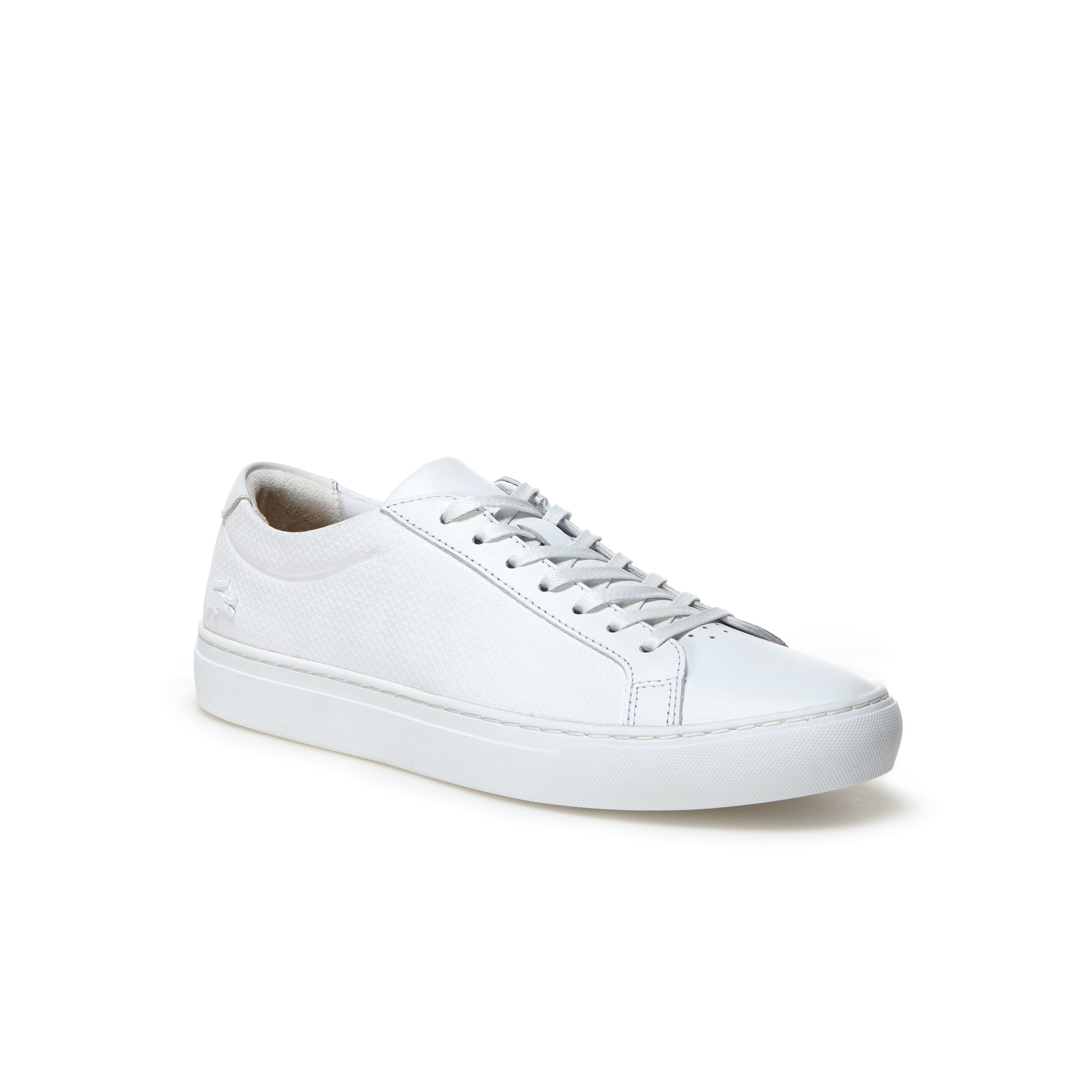 Sneakers L.12.12 in pelle e gomma