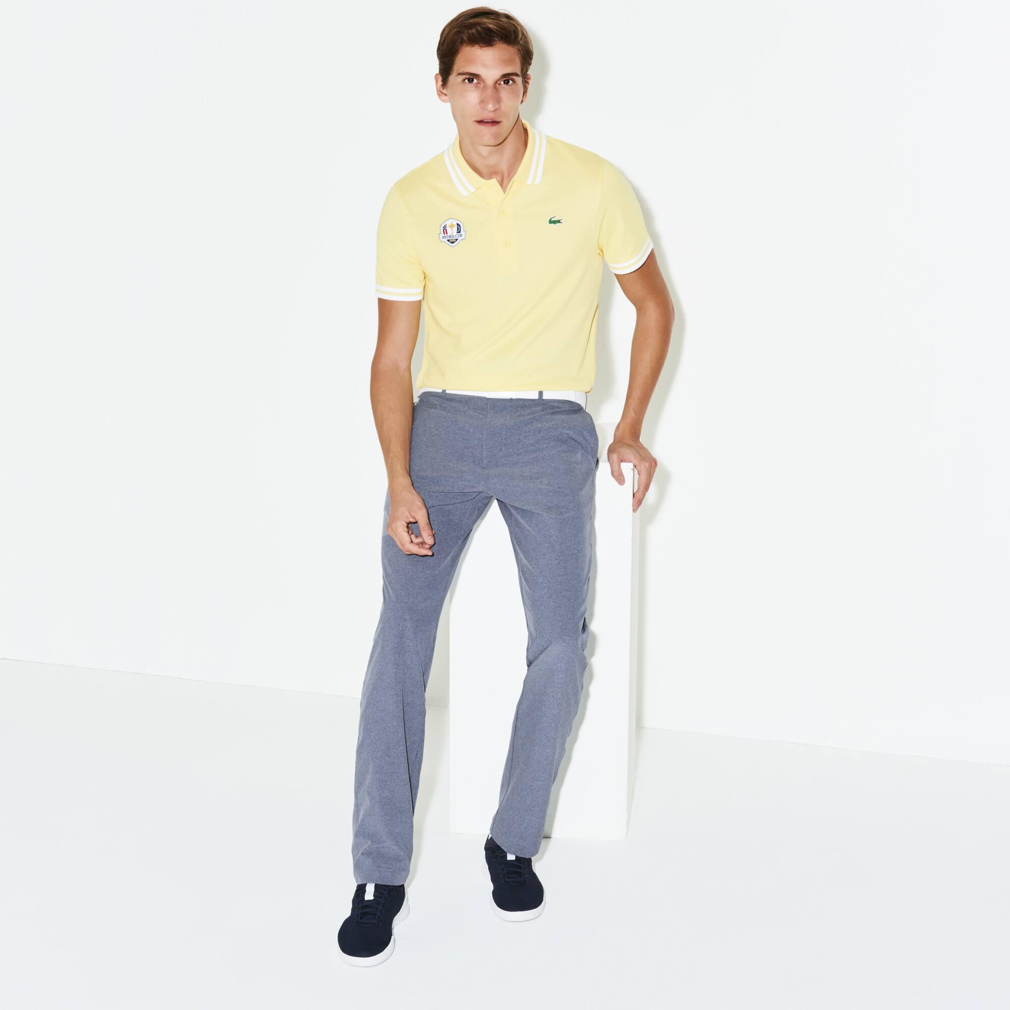 Pantaloni chino Golf Lacoste SPORT in taffetà Edizione Ryder Cup