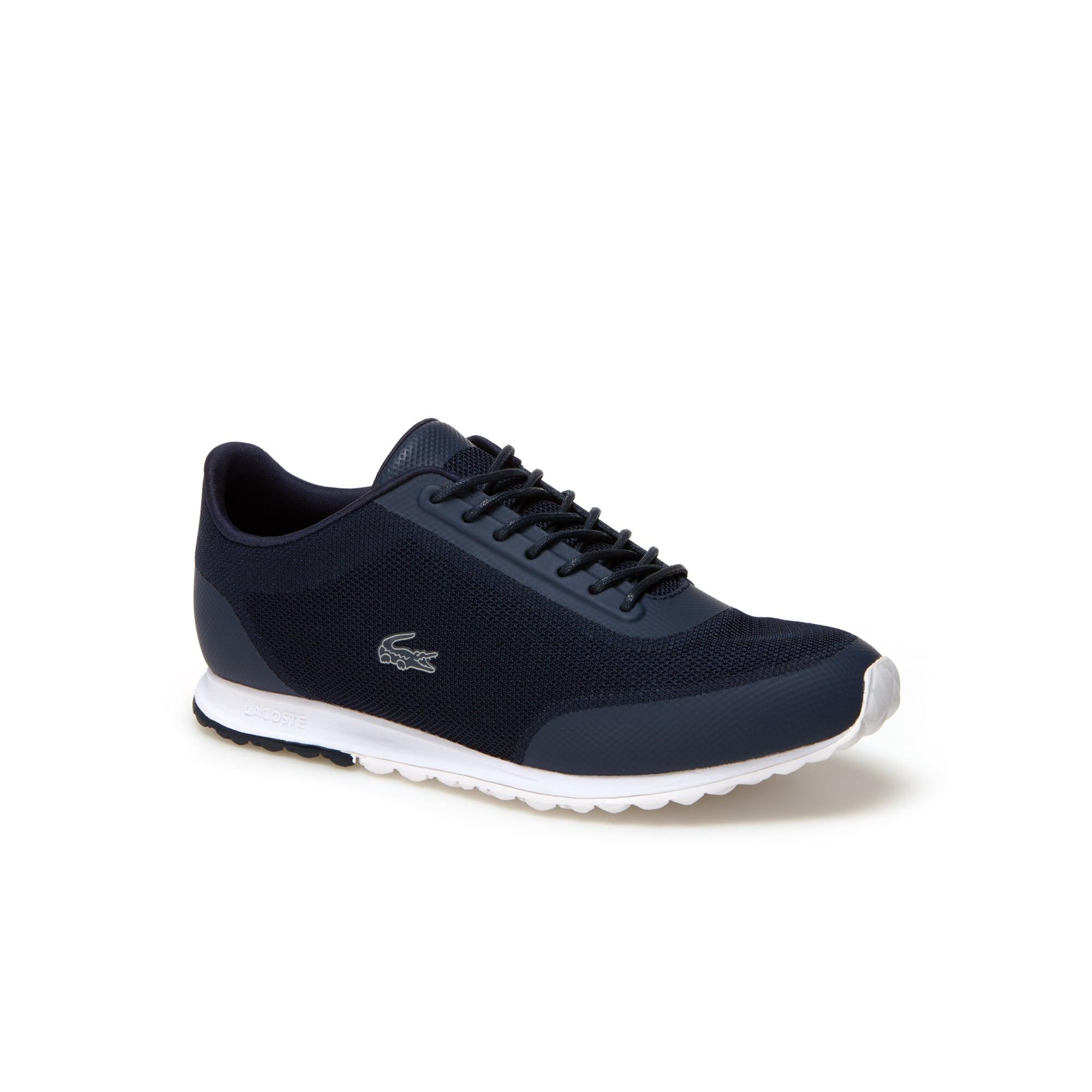 Sneakers Helaine Runner in tela tinta unita