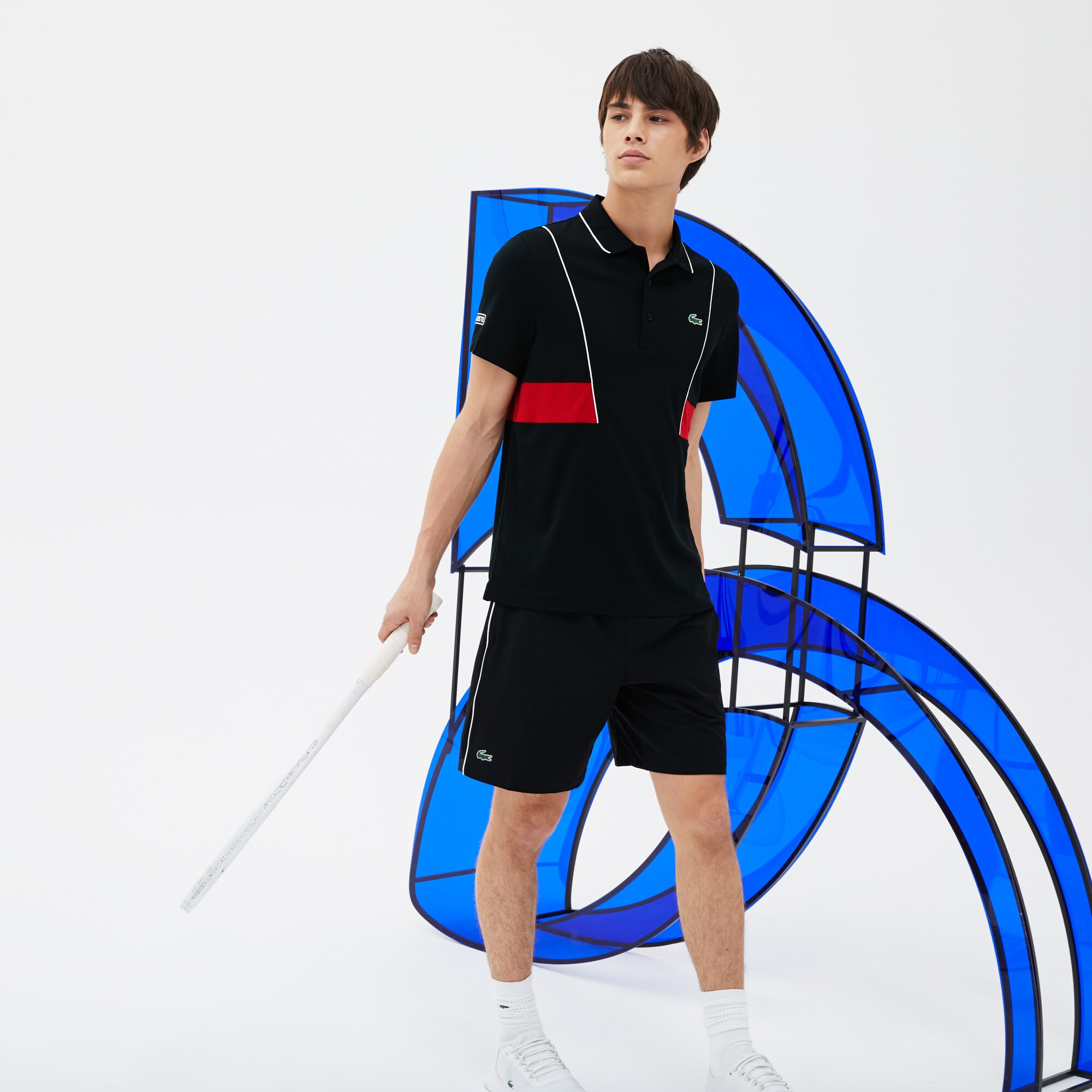 Lacoste Korte Broek Heren.Lacoste Sport Novak Djokovic Support With Style Collection Korte