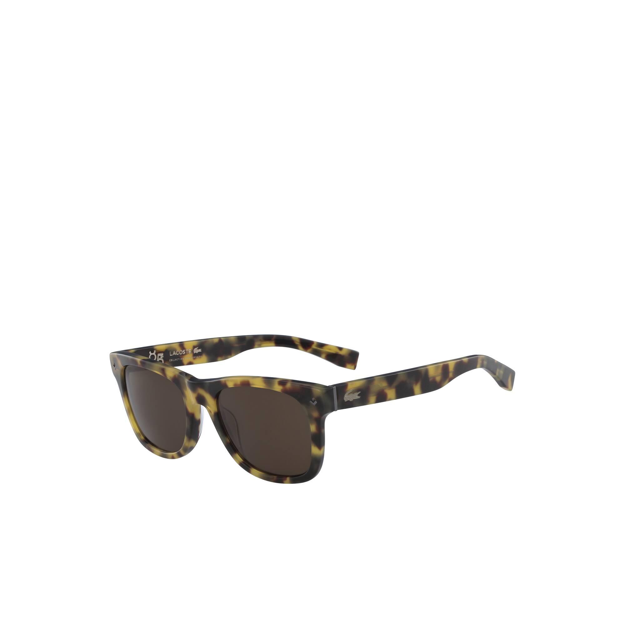 Petit piqué-zonnebril unisex met acetaatmontuur