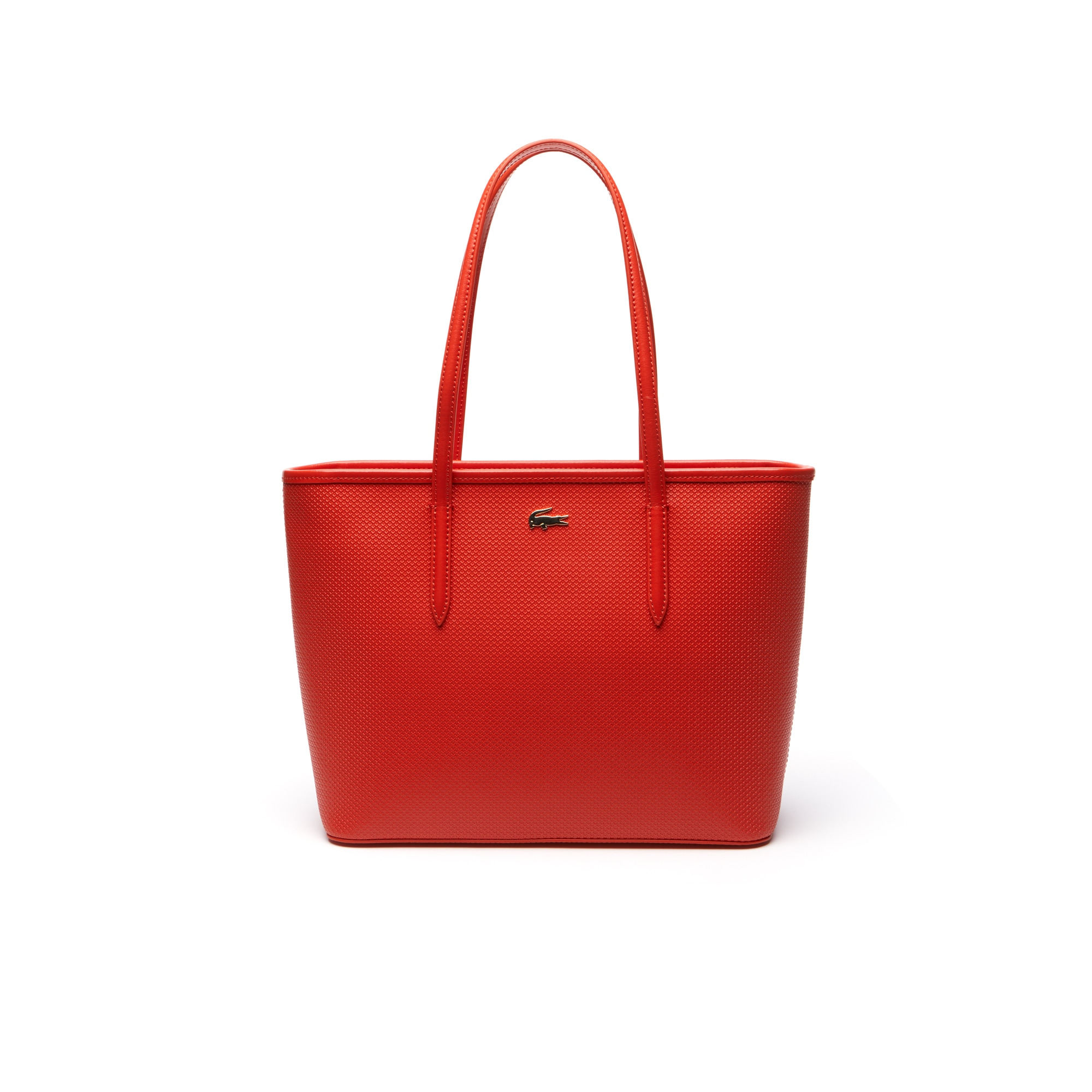 Chantaco-shopper dames piquéleer met rits