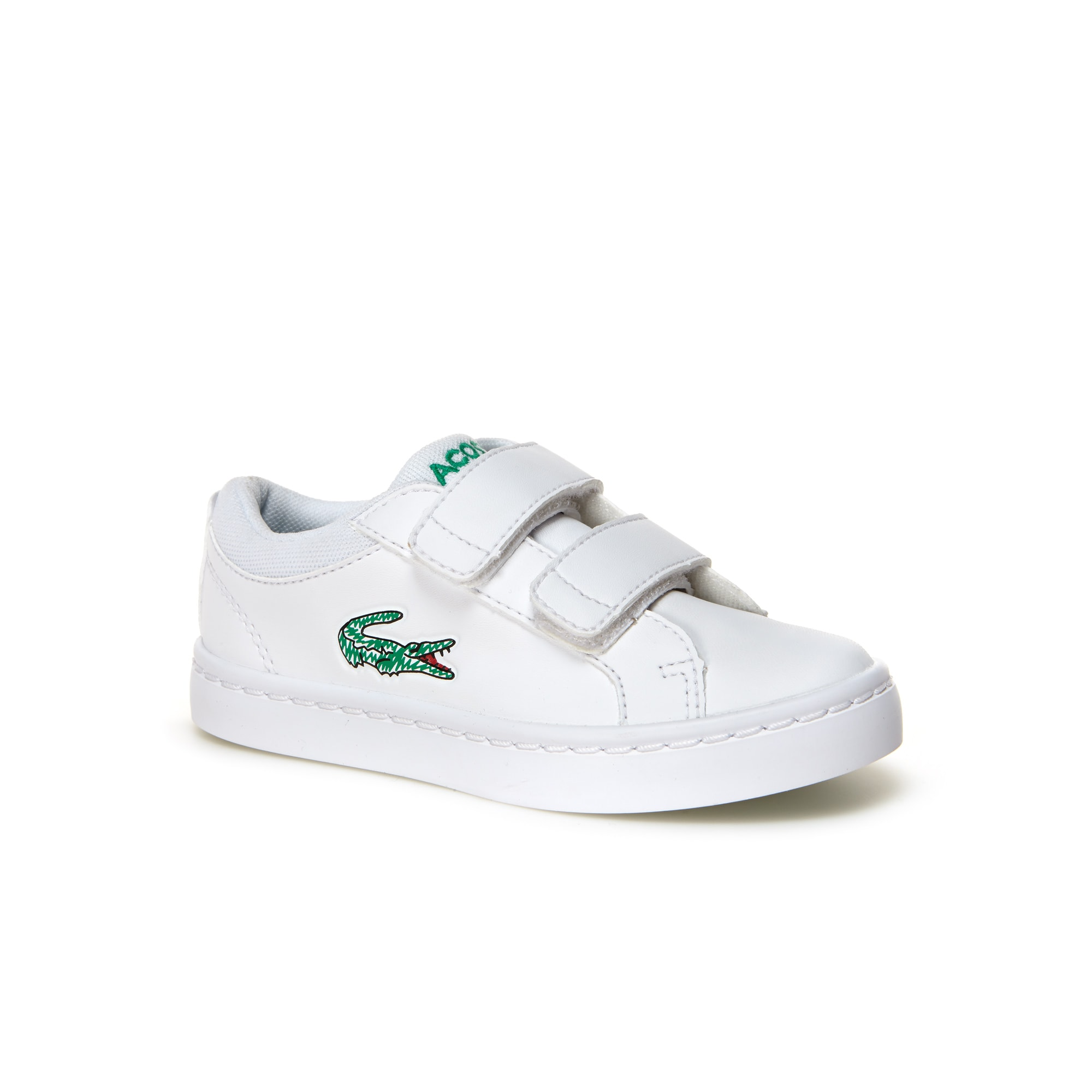 Straightset Lace kindersneakers leather-look