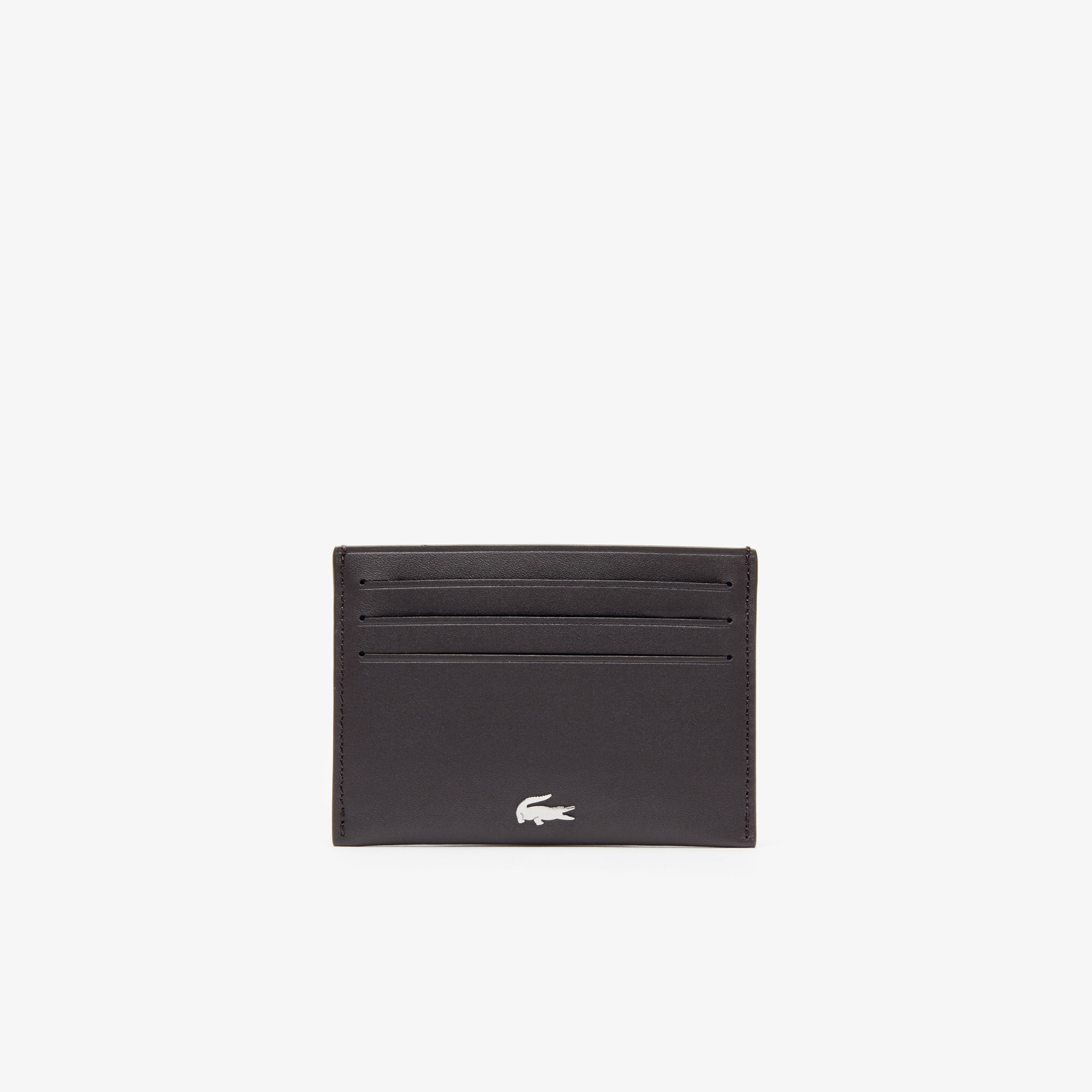 Men's FG credit card holder in leather