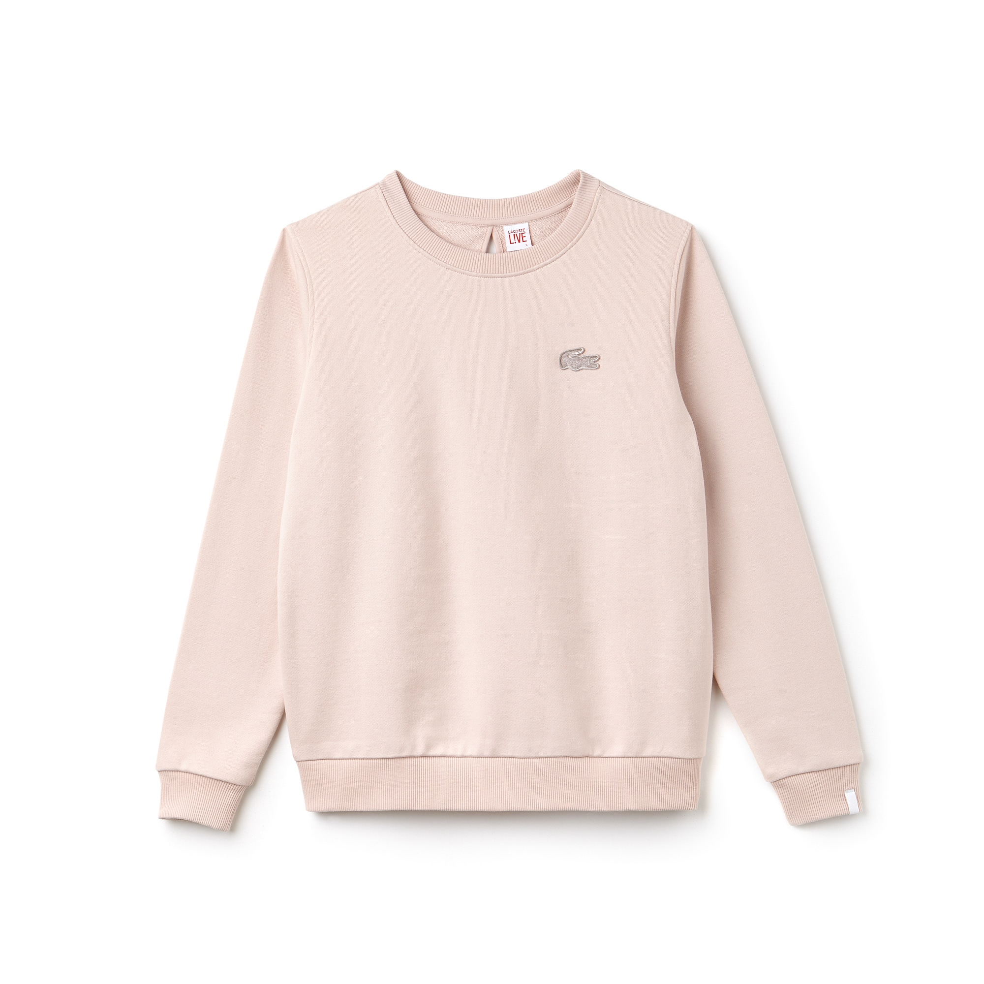Lacoste LIVE-sweatshirt dames fleece met traanopening