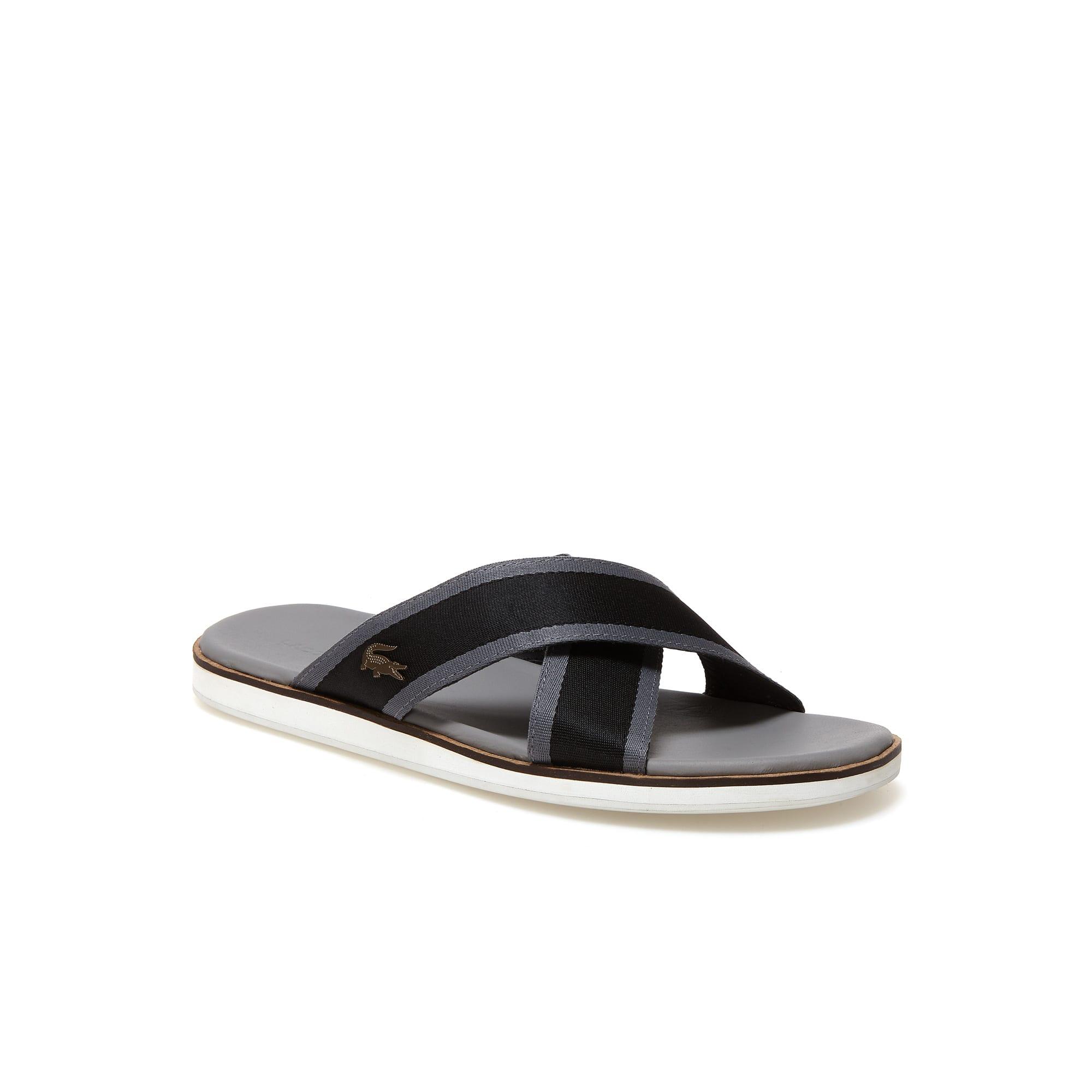 Coupri sandalen van leer