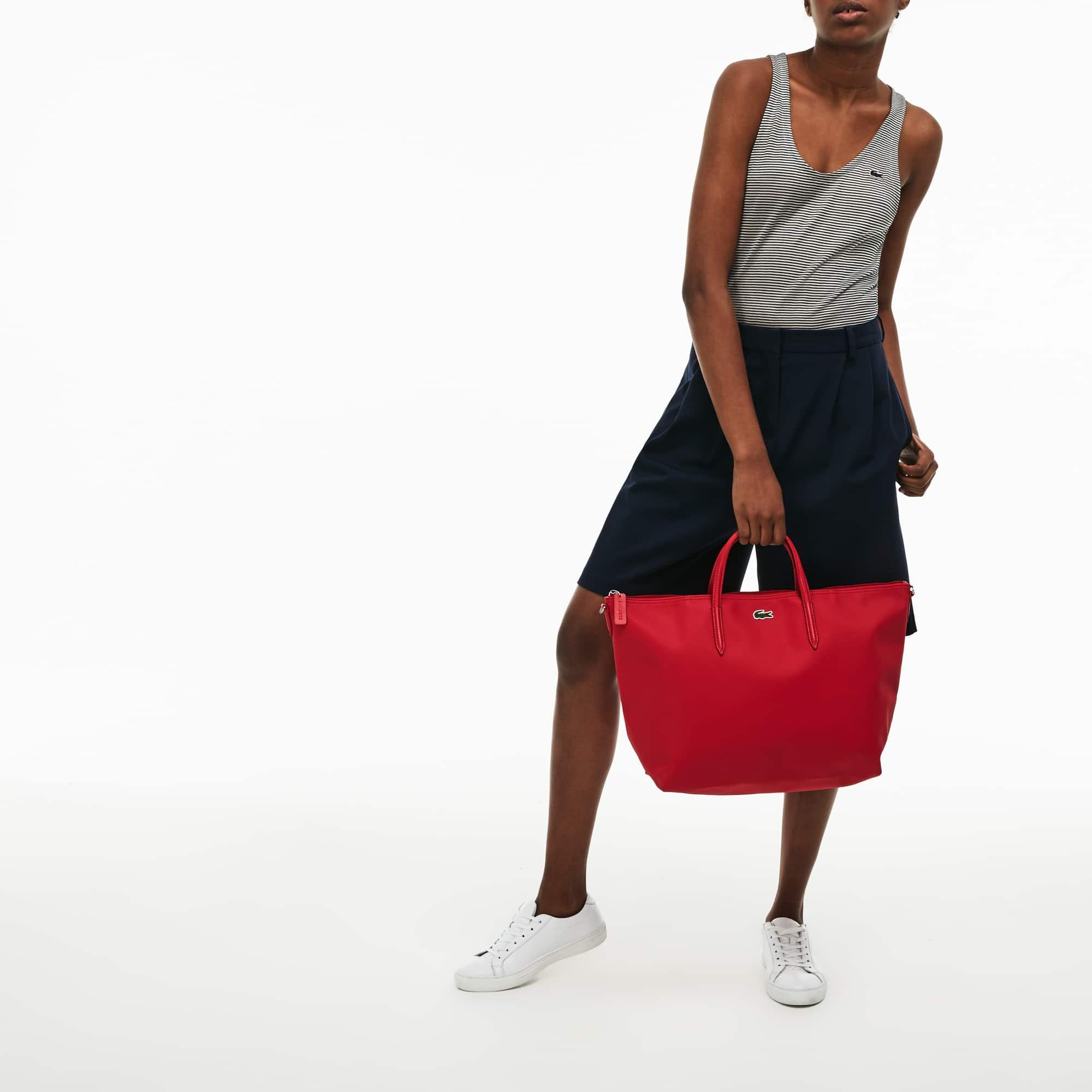 Effen L.12.12 Concept draagtas met rits, op twee manieren te dragen