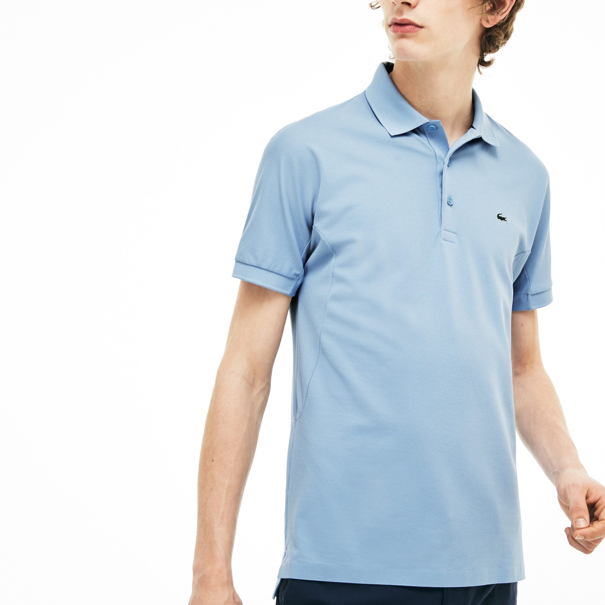 Regular fit Lacoste polo, piqué, limited edition 85-jarig jubileum