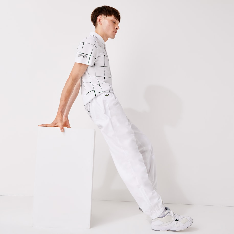Lacoste SPORT Tennis-trainingsbroek Heren van Diamantgeweven Taf