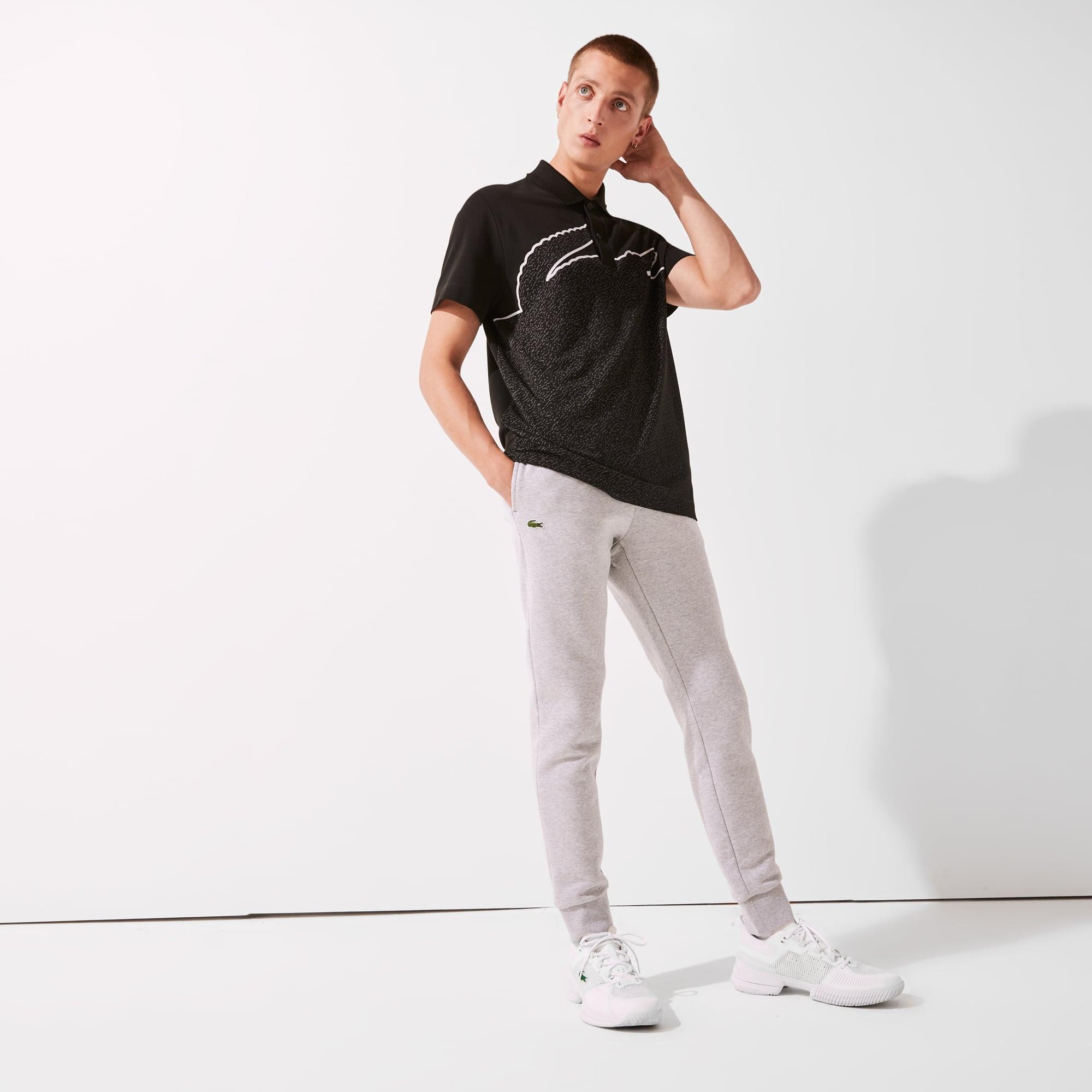 Lacoste SPORT Tennis-trainingsbroek heren katoenfleece