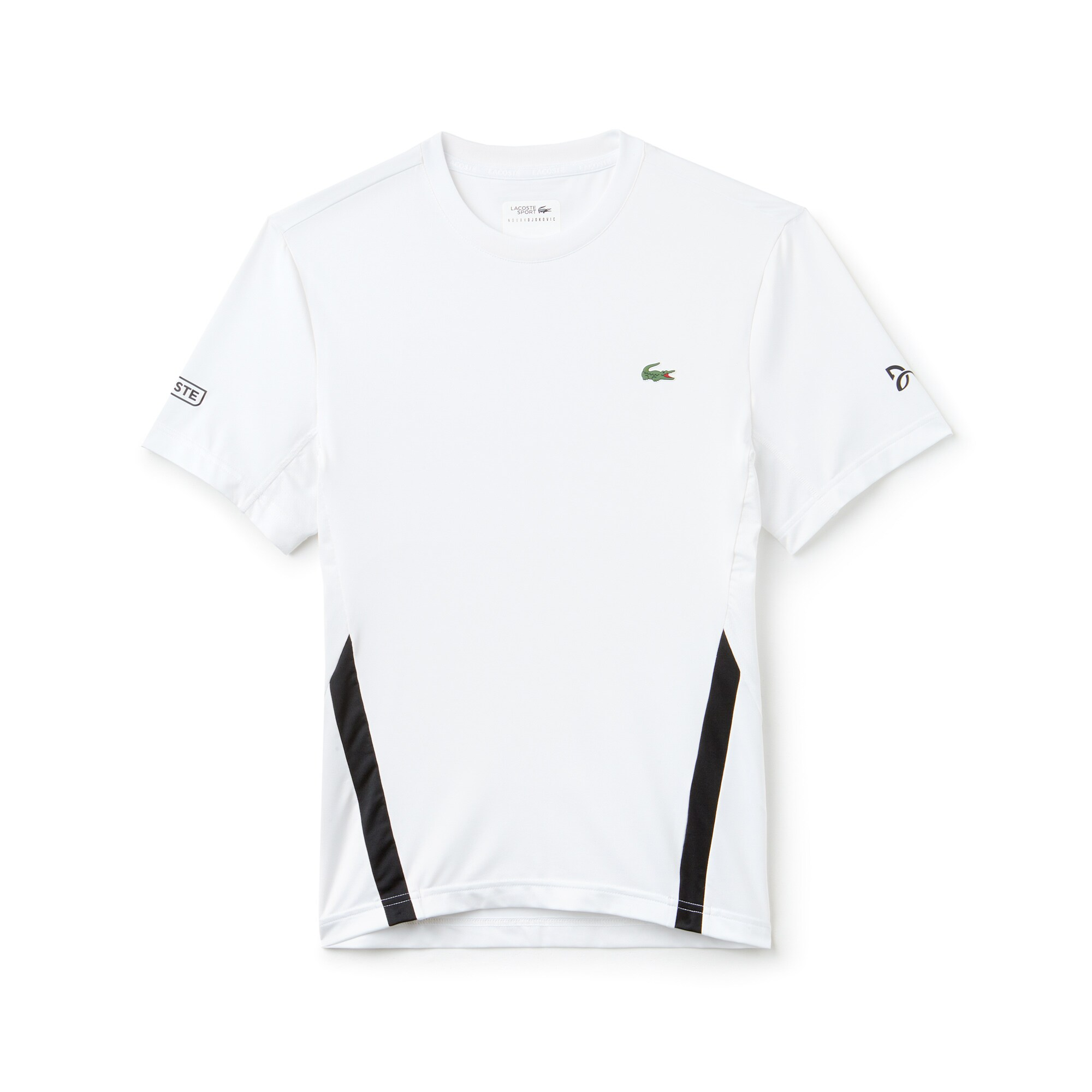 Lacoste SPORT NOVAK DJOKOVIC-OFF COURT COLLECTION-T-shirt heren ronde hals technische jersey met stretch
