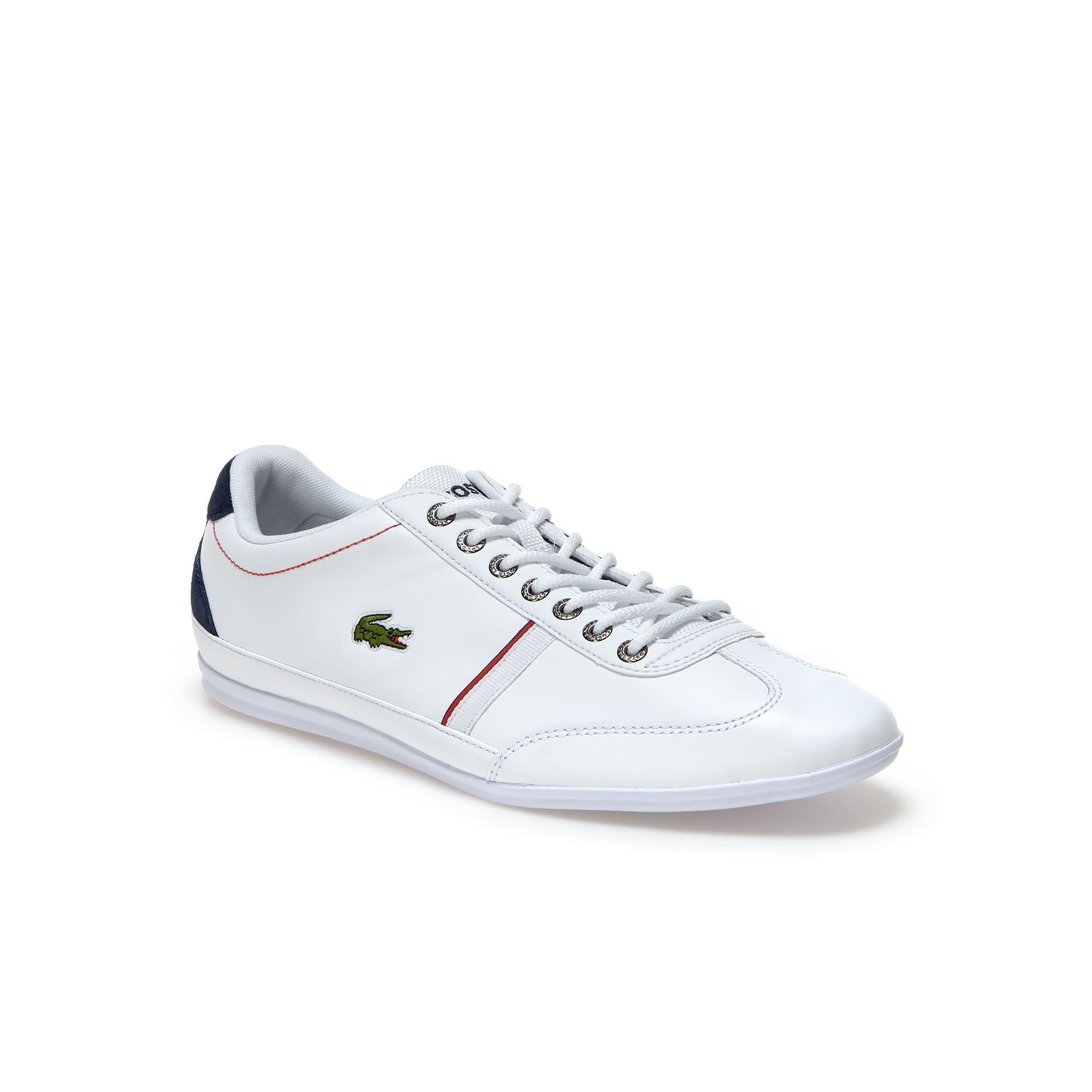 Misano Sport herensneakers van leer