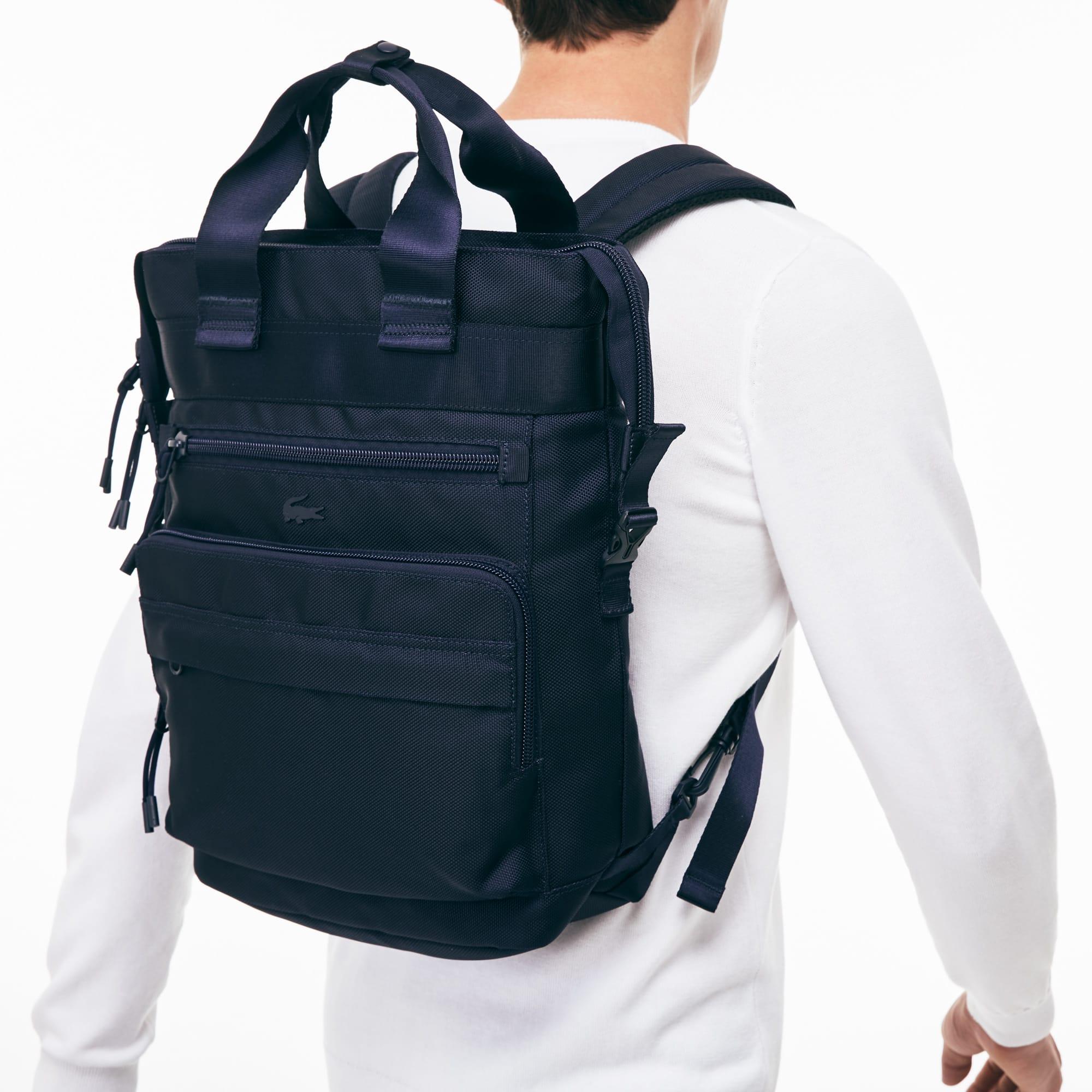 Techni-City-rugzak heren lichtgewicht nylon met draagbeugel