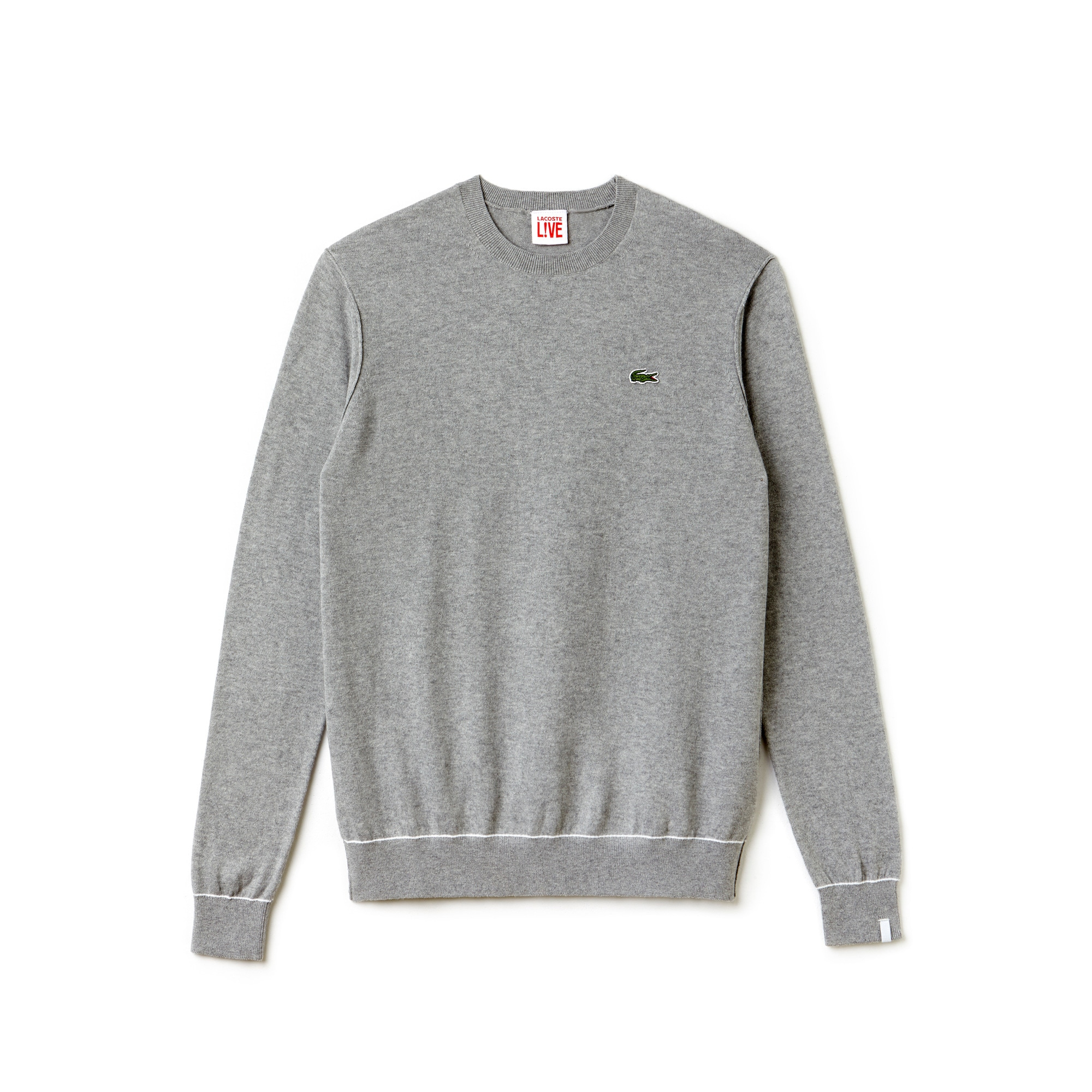 Men's Lacoste LIVE Cotton And Cashmere Jersey Sweater