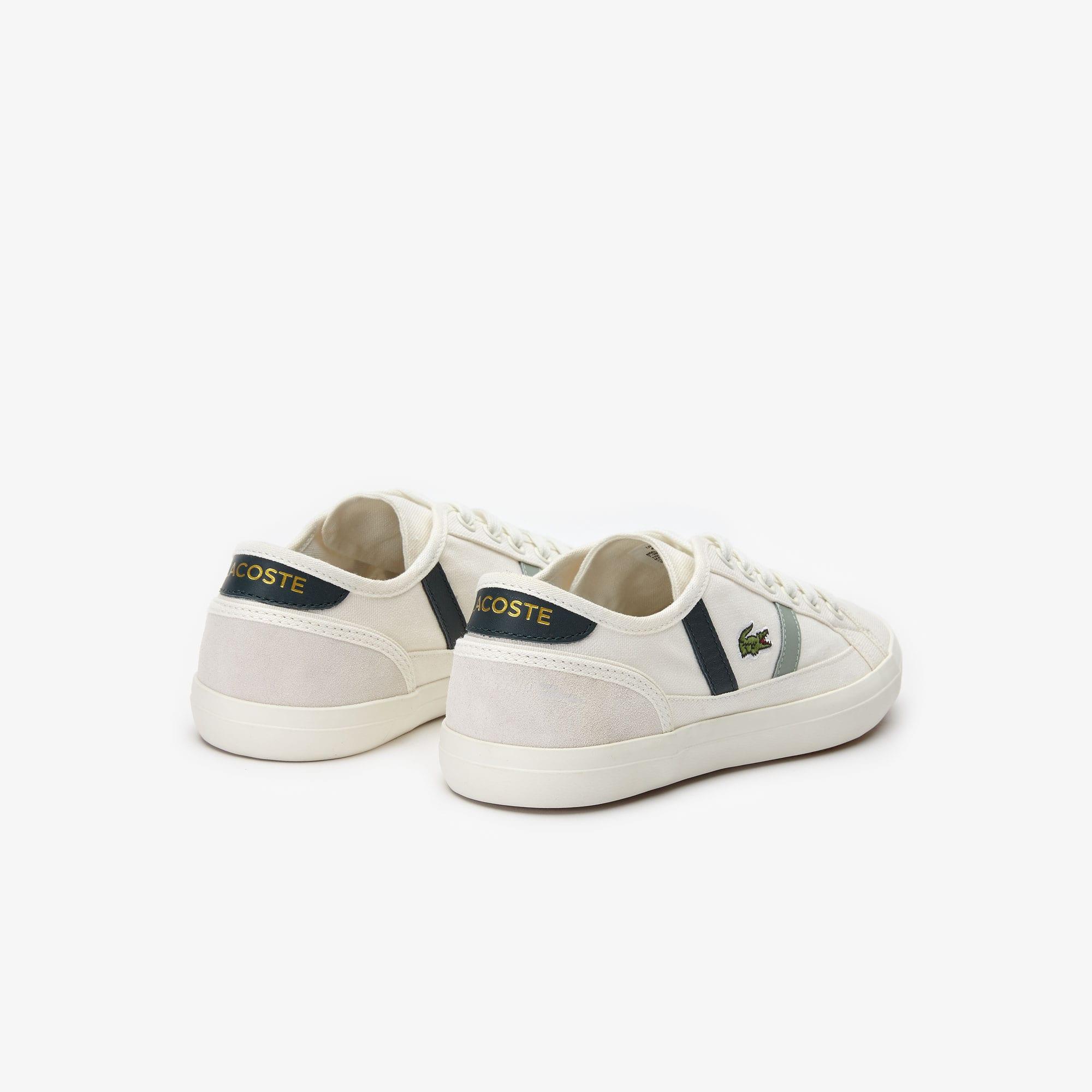 ff0e6f6cd5 Sideline-sneakers dames van canvas en leer