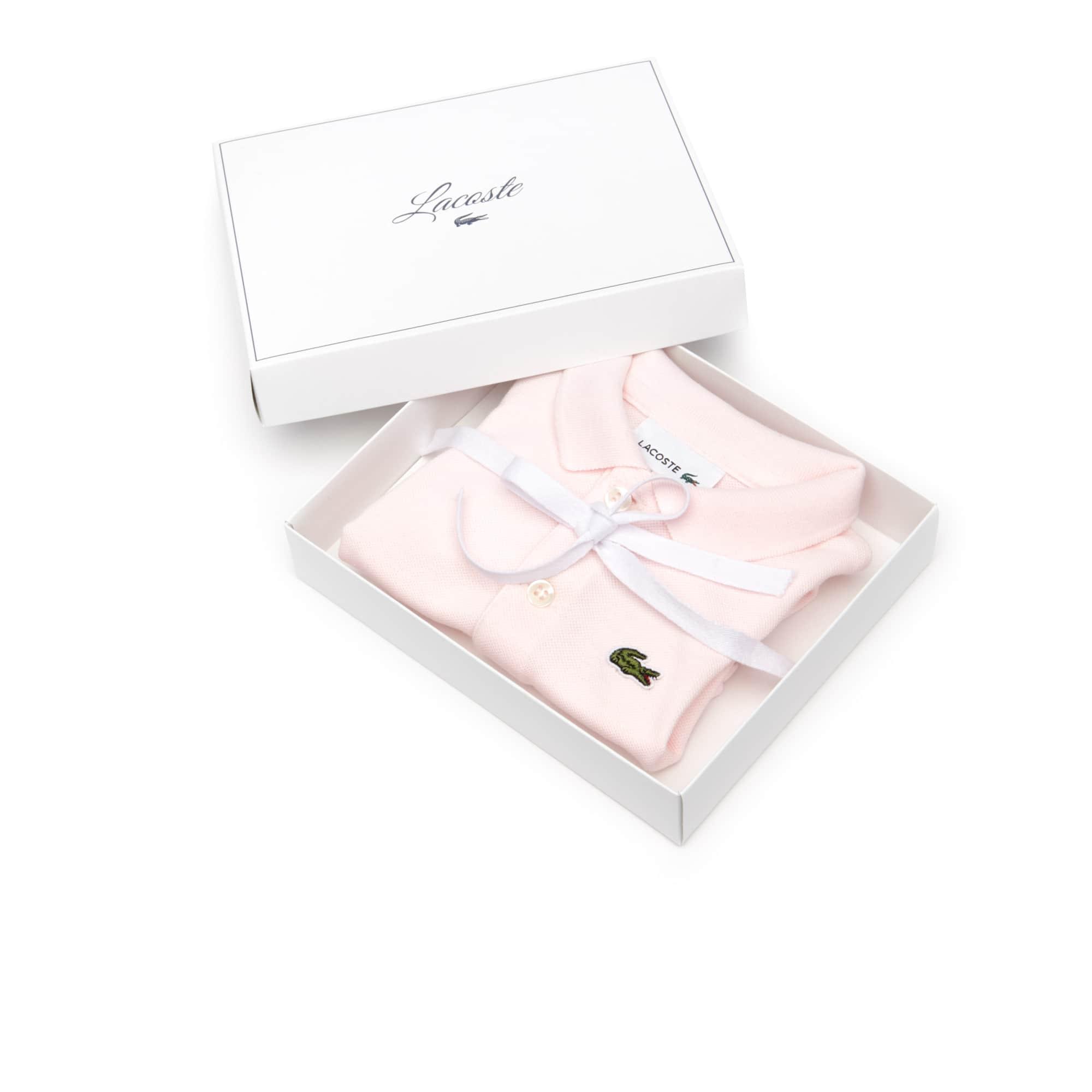 Boys' Stretch Cotton Piqué Bodysuit Set