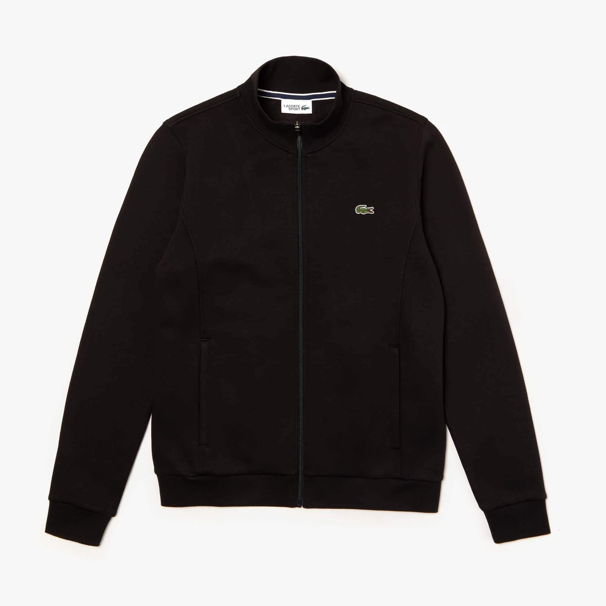 Lacoste SPORT molton sweater met rits