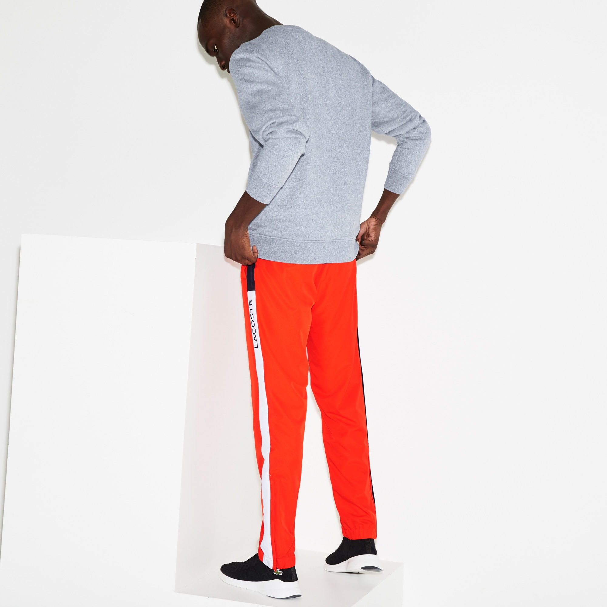 Lacoste SPORT tennis joggingbroek heren colorblock-strepen