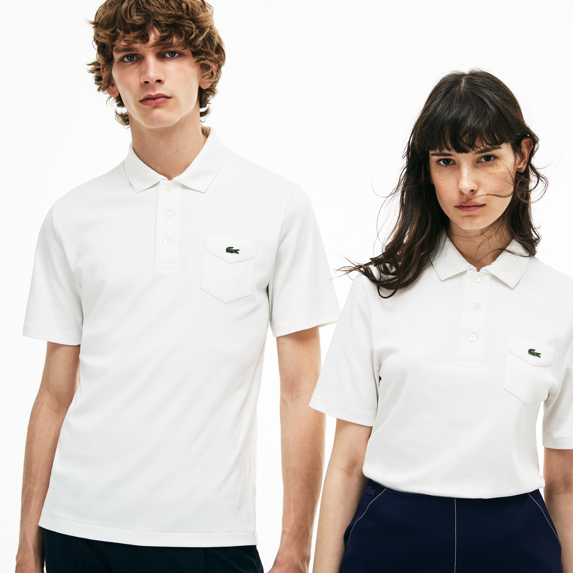 Unisex slim fit Lacoste polo, limited edition 85-jarig jubileum