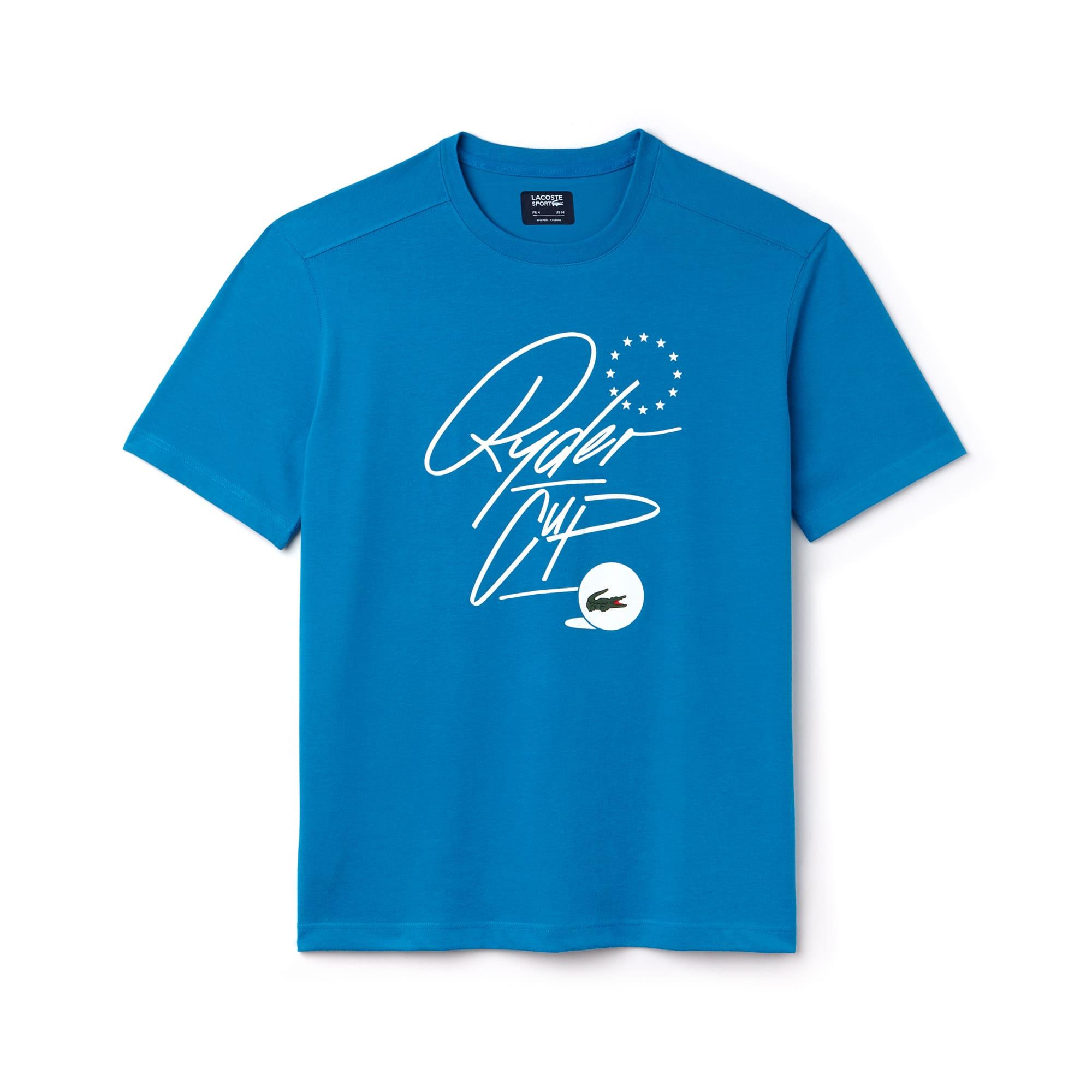 Golf Lacoste SPORT Édition Ryder Cup T-shirt van technisch jersey