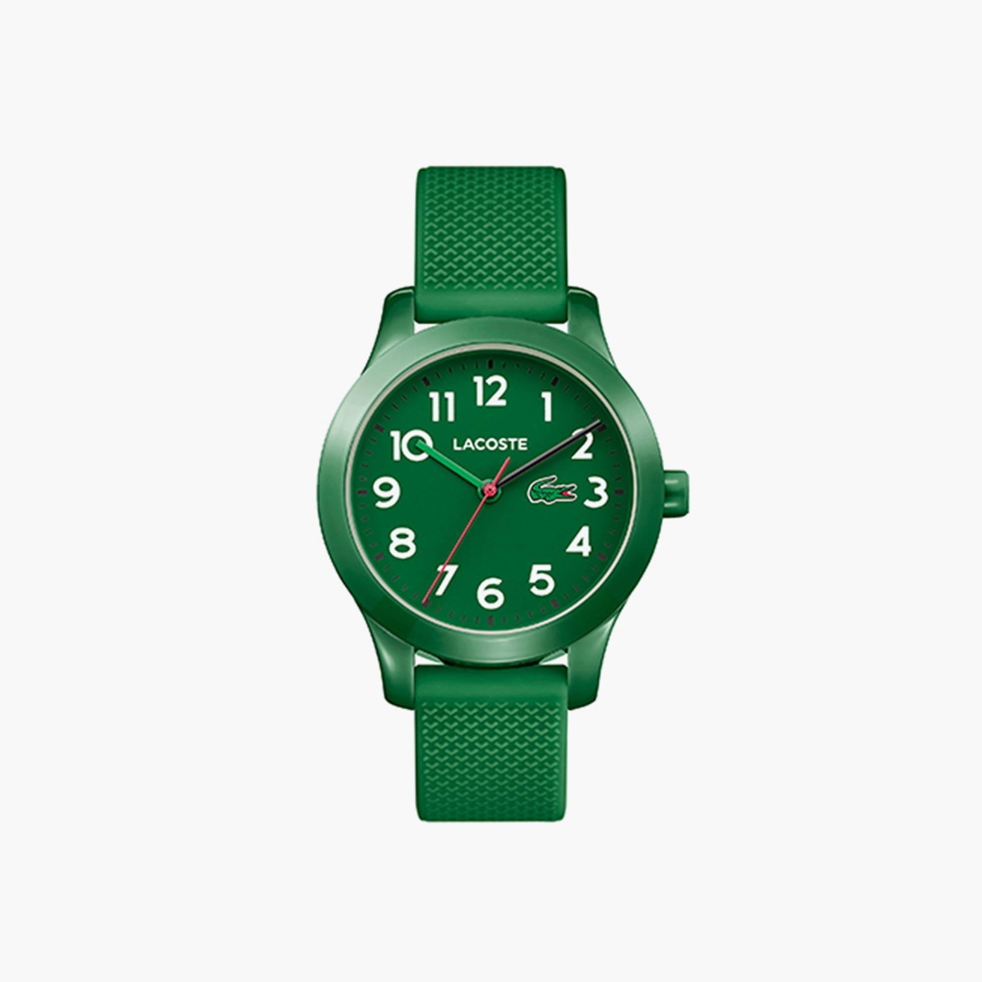 Kinderen Lacoste 12.12 Horloge met Groen Siliconen Armband