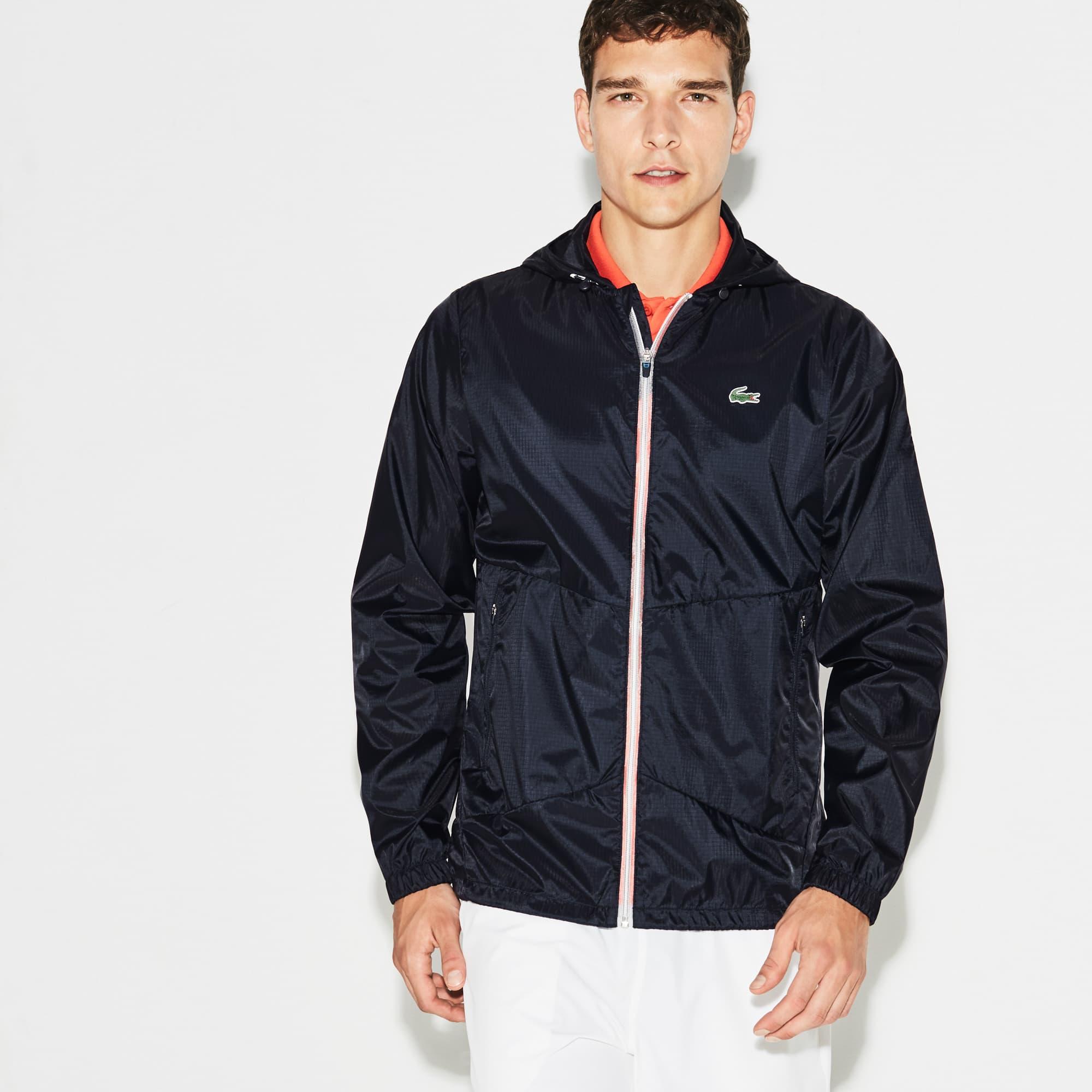 Jacket voor Novak Djokovic uit de Lacoste Collectie - Exclusieve Gravel Editie