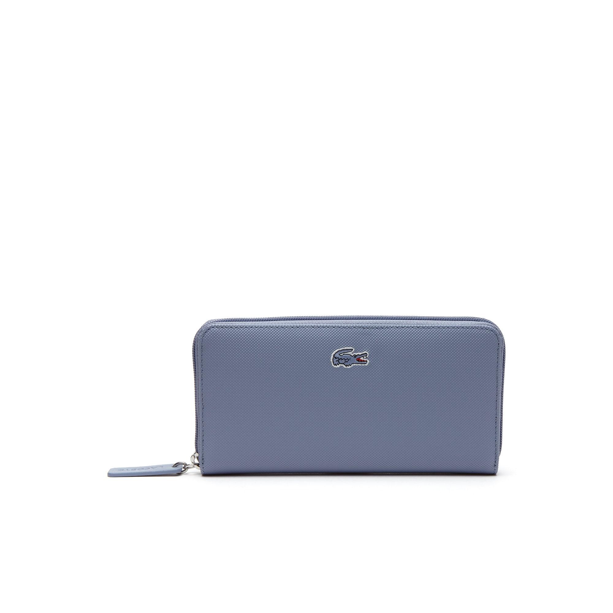 L.12.12 Concept-portemonnee dames petit piqué met rits