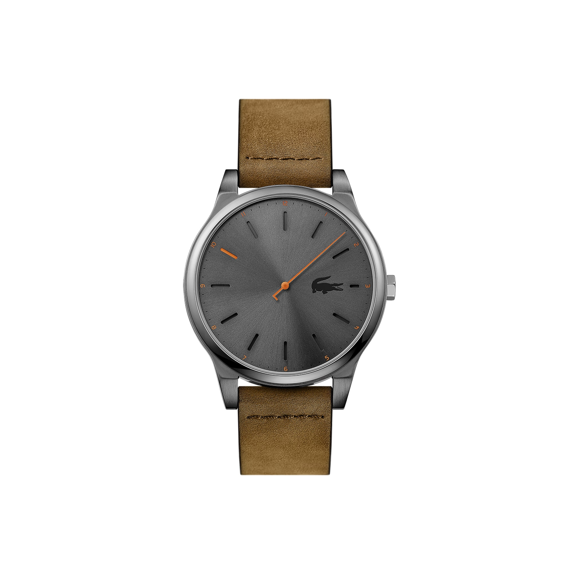 Men's Kyoto Watch with Brown Leather Strap