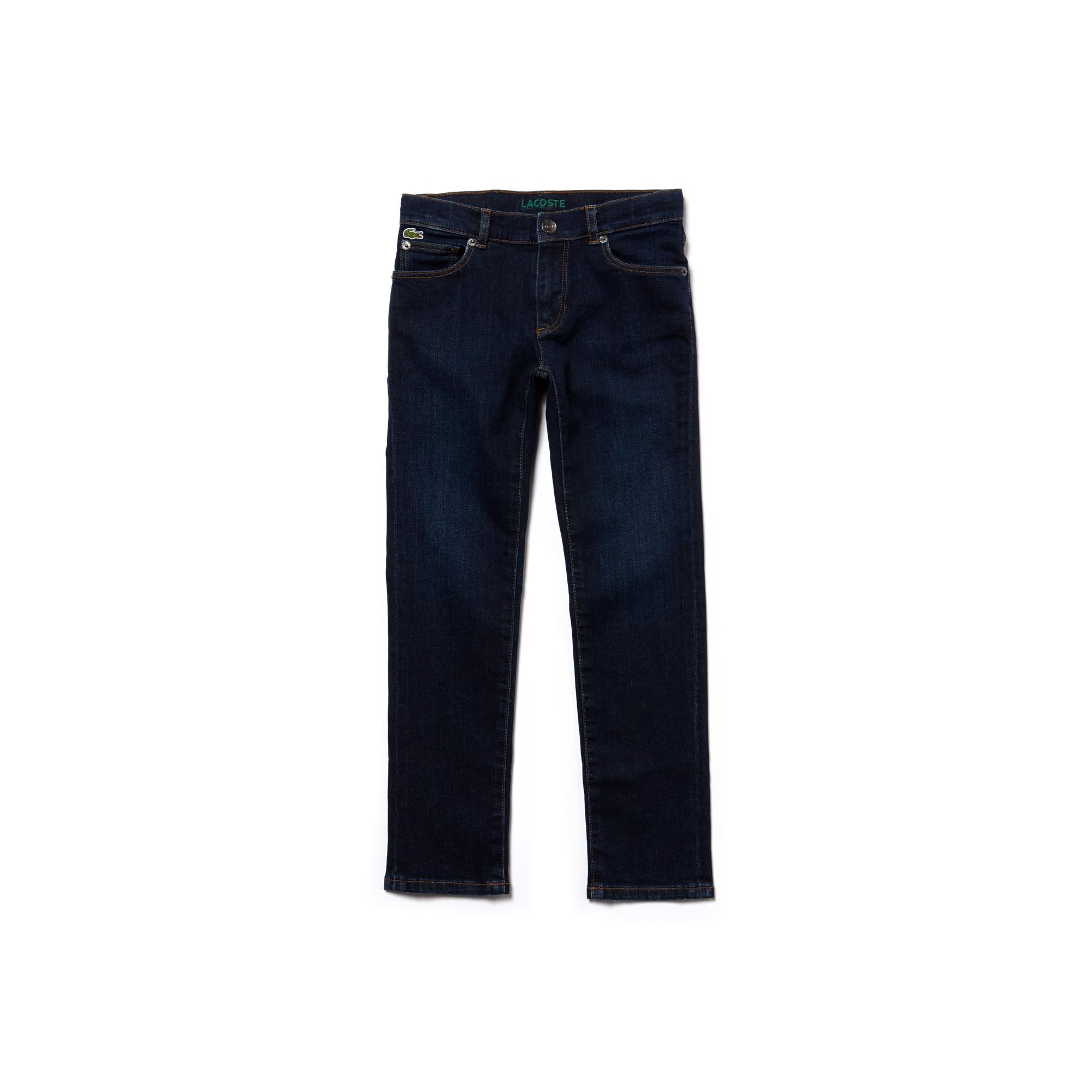 Jeans kinderen van denim katoen