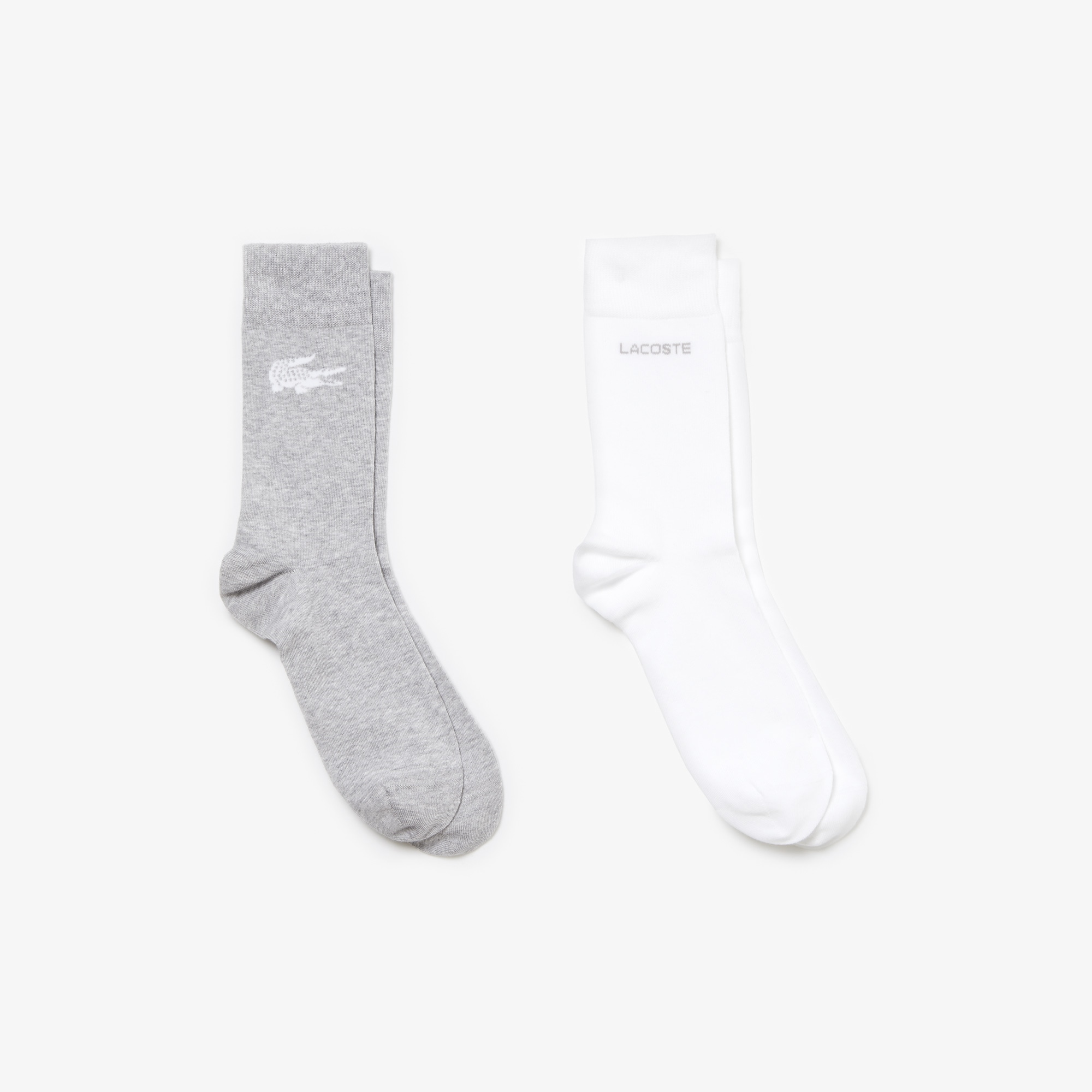 Men's Two-pack of coordinated socks in print jersey