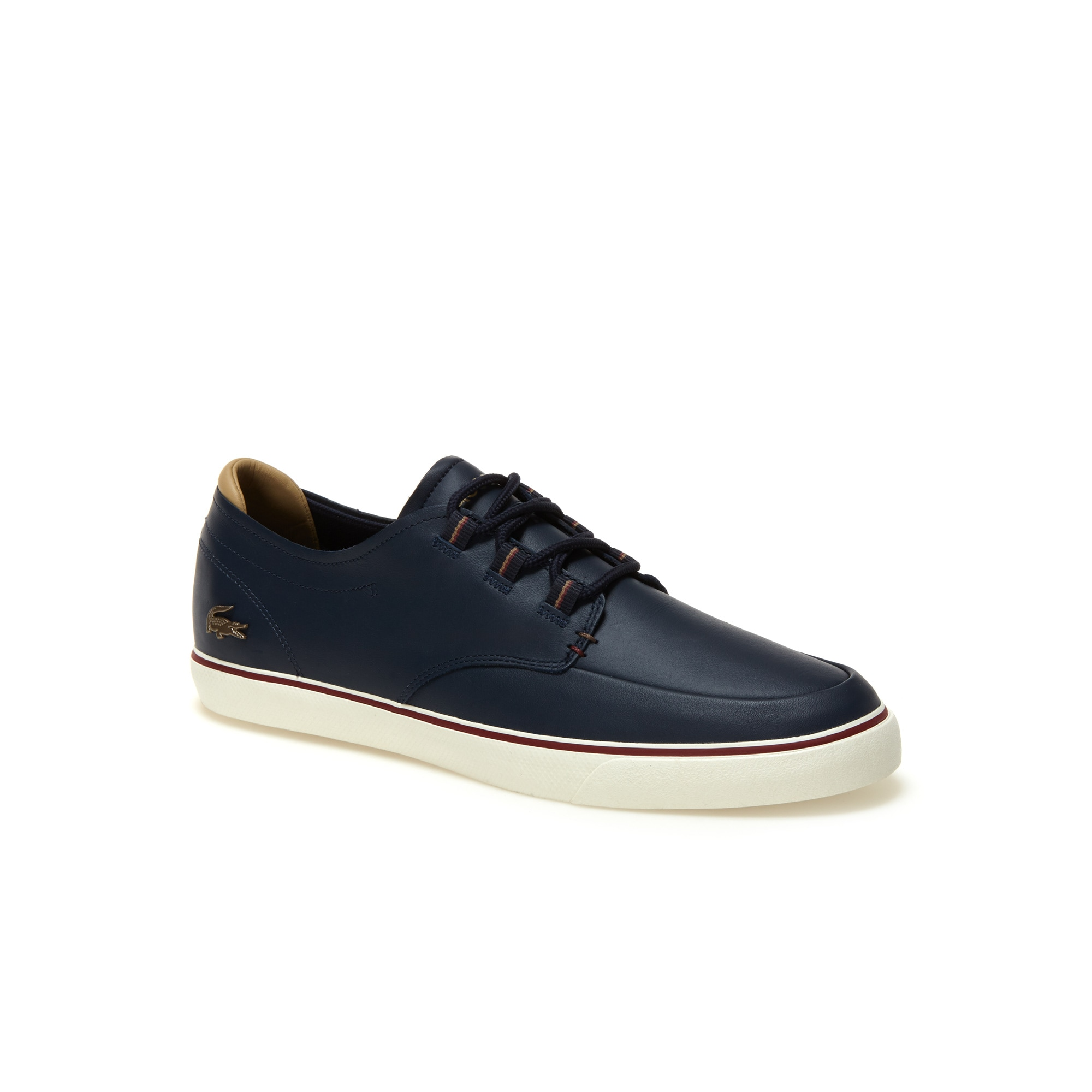 Esparre Deck herensneakers van leer