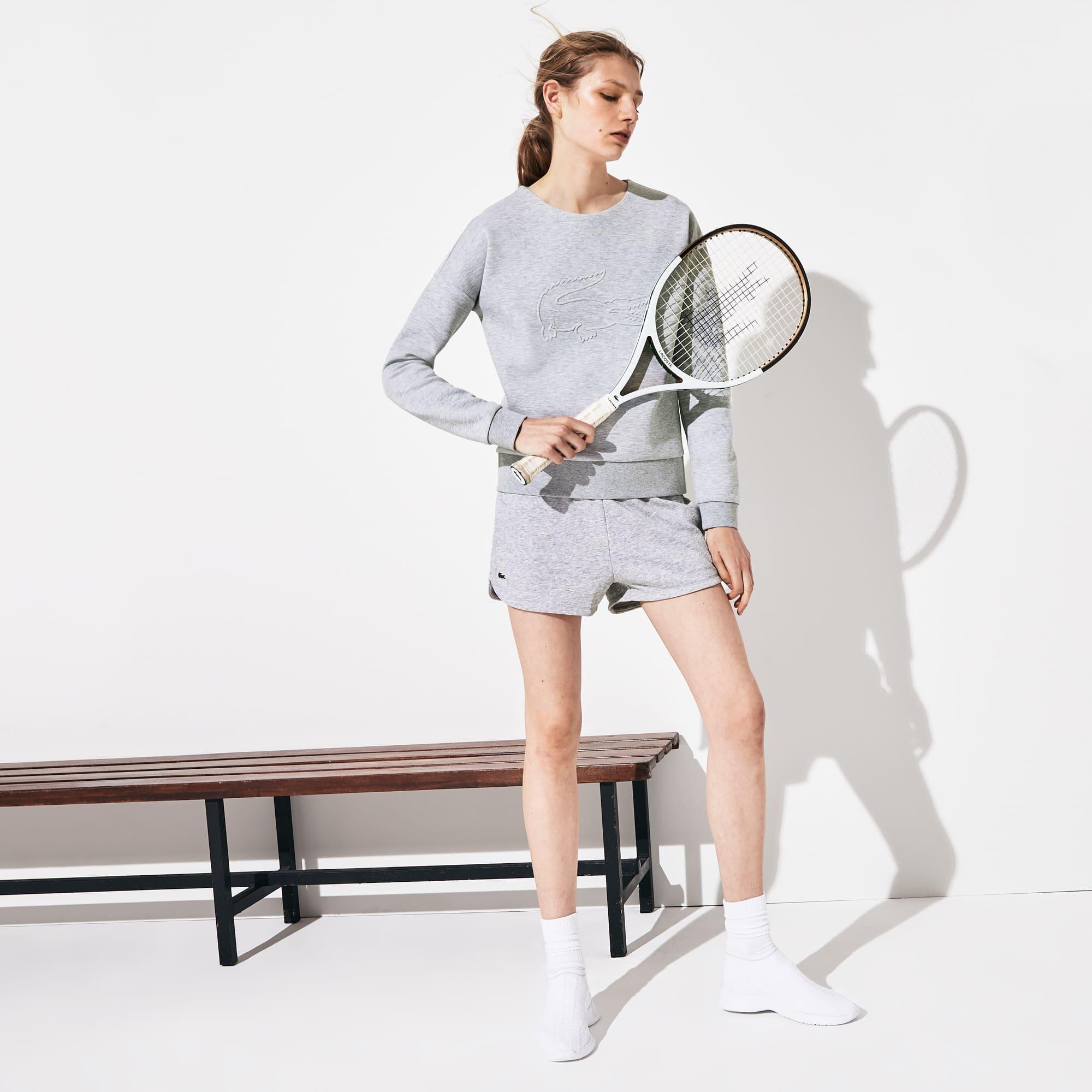 Tennis Lacoste SPORT korte broek van effen molton