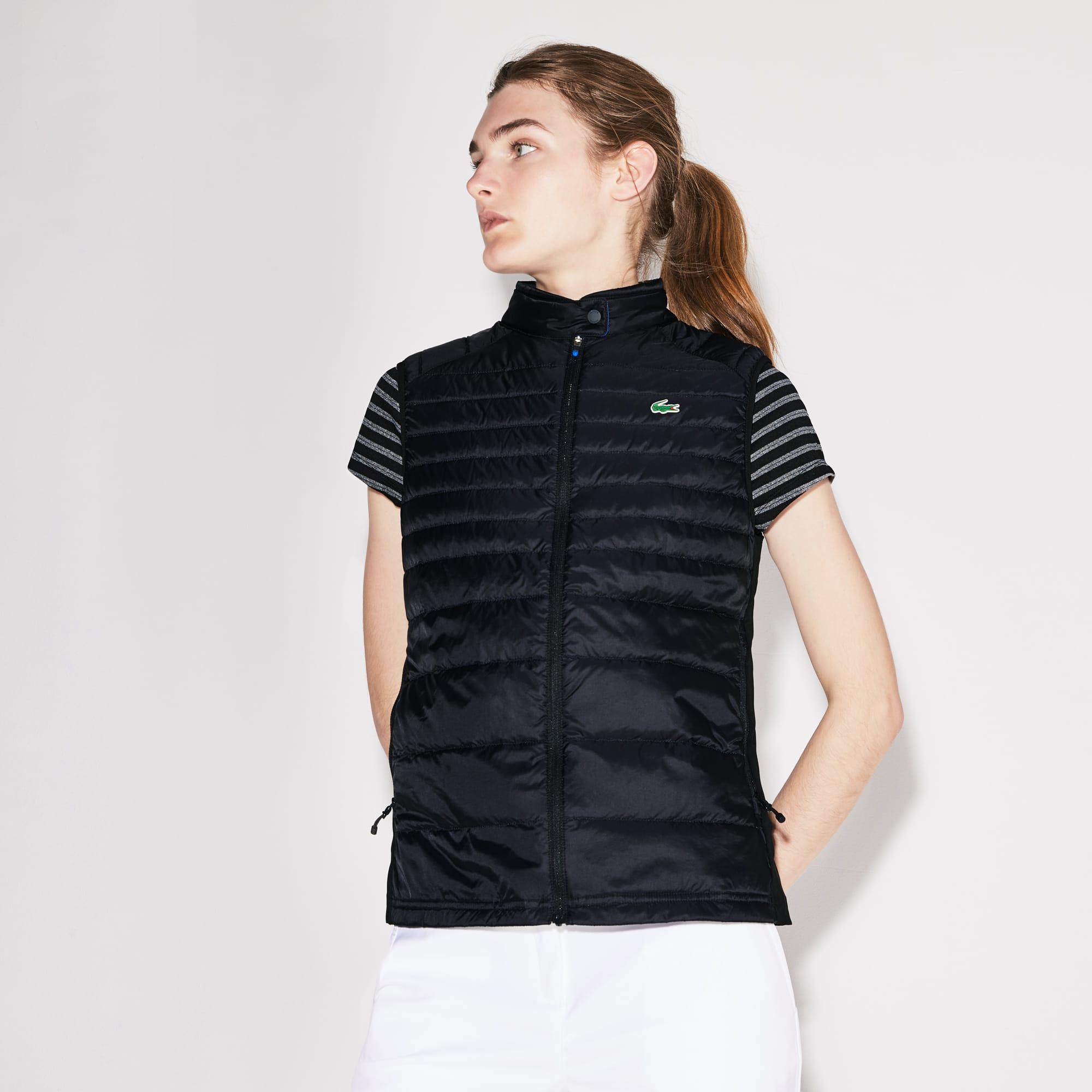 Lacoste SPORT-golfvest dames waterbestendig gewatteerd technisch